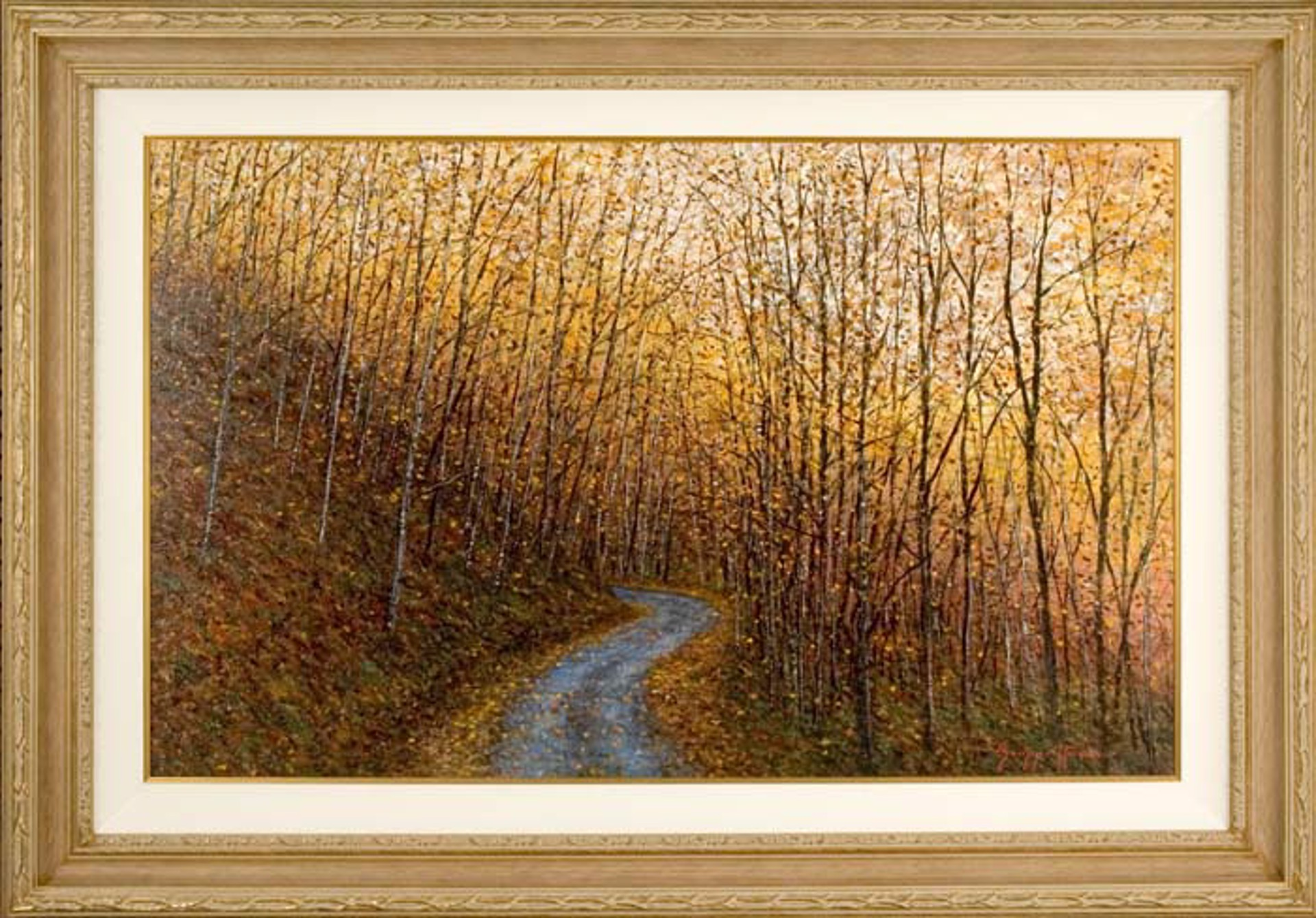 Late Afternoon Autumn by James Scoppettone