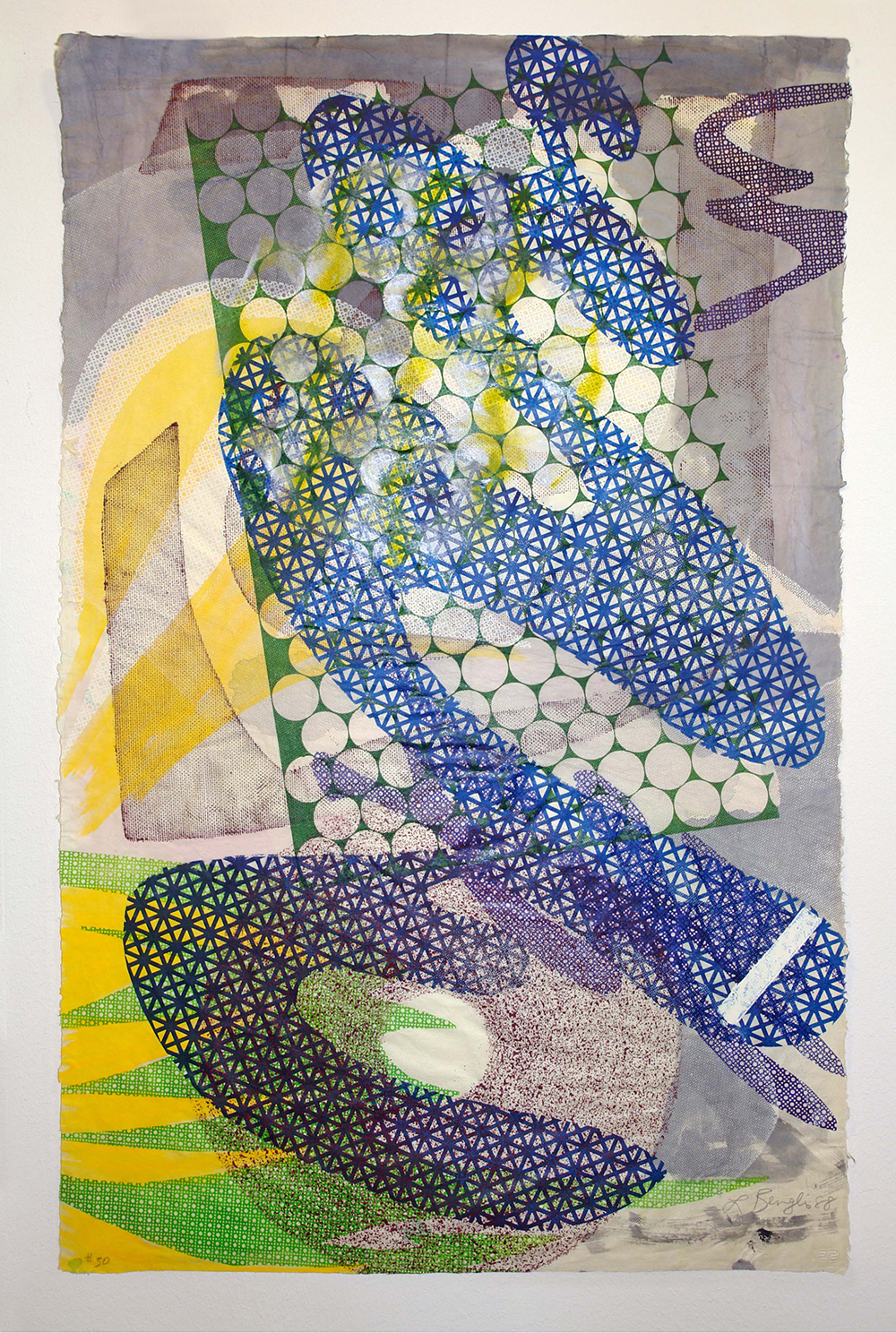 Tandem Series #30 by Lynda Benglis