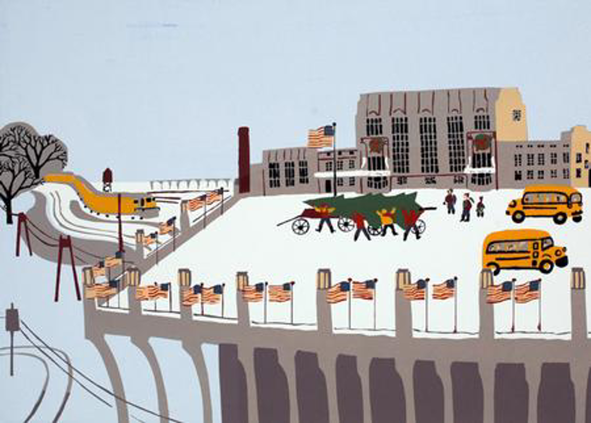 Christmas at Union Station by Judith Welk