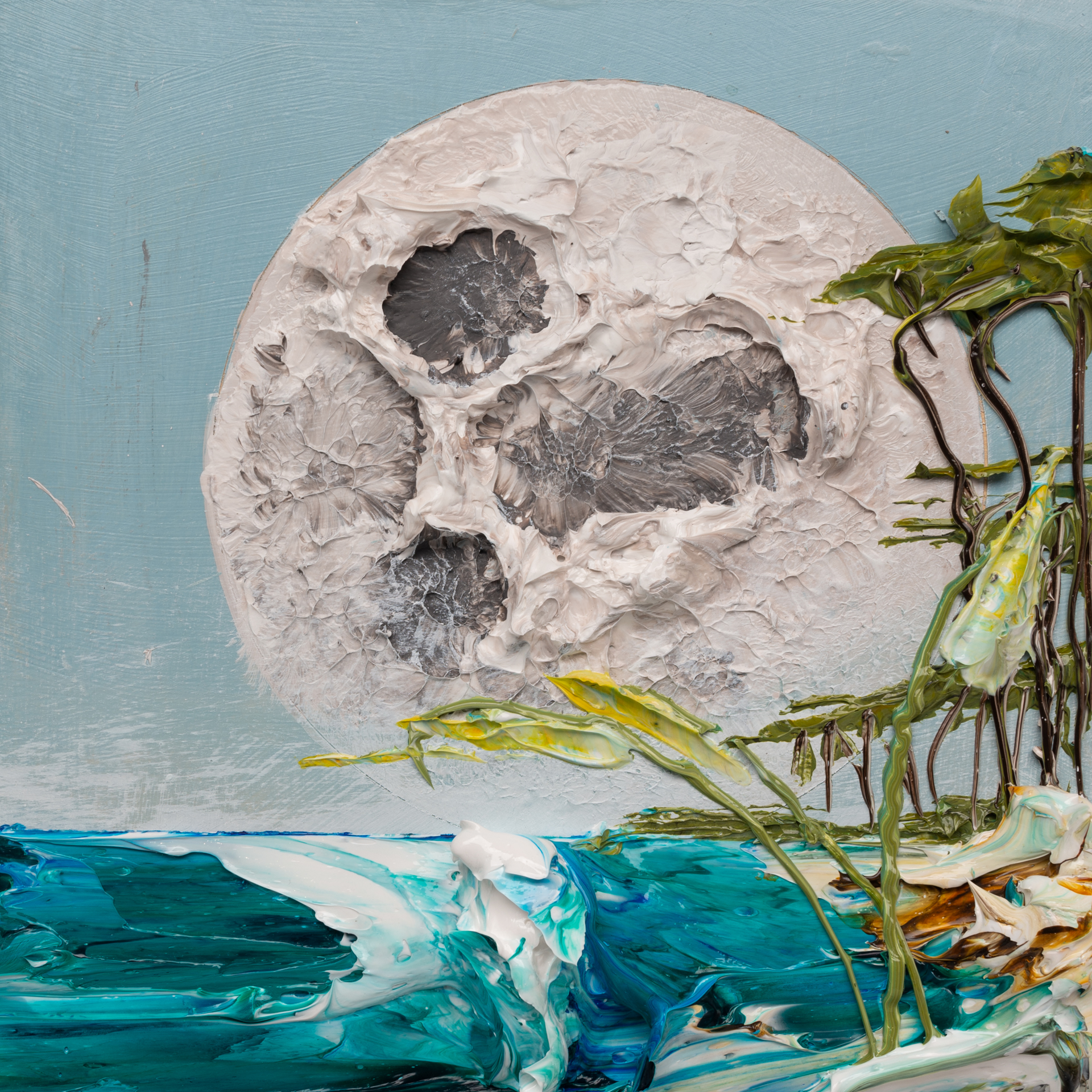 MOONSCAPE MS-12X12-2019-324 by JUSTIN GAFFREY