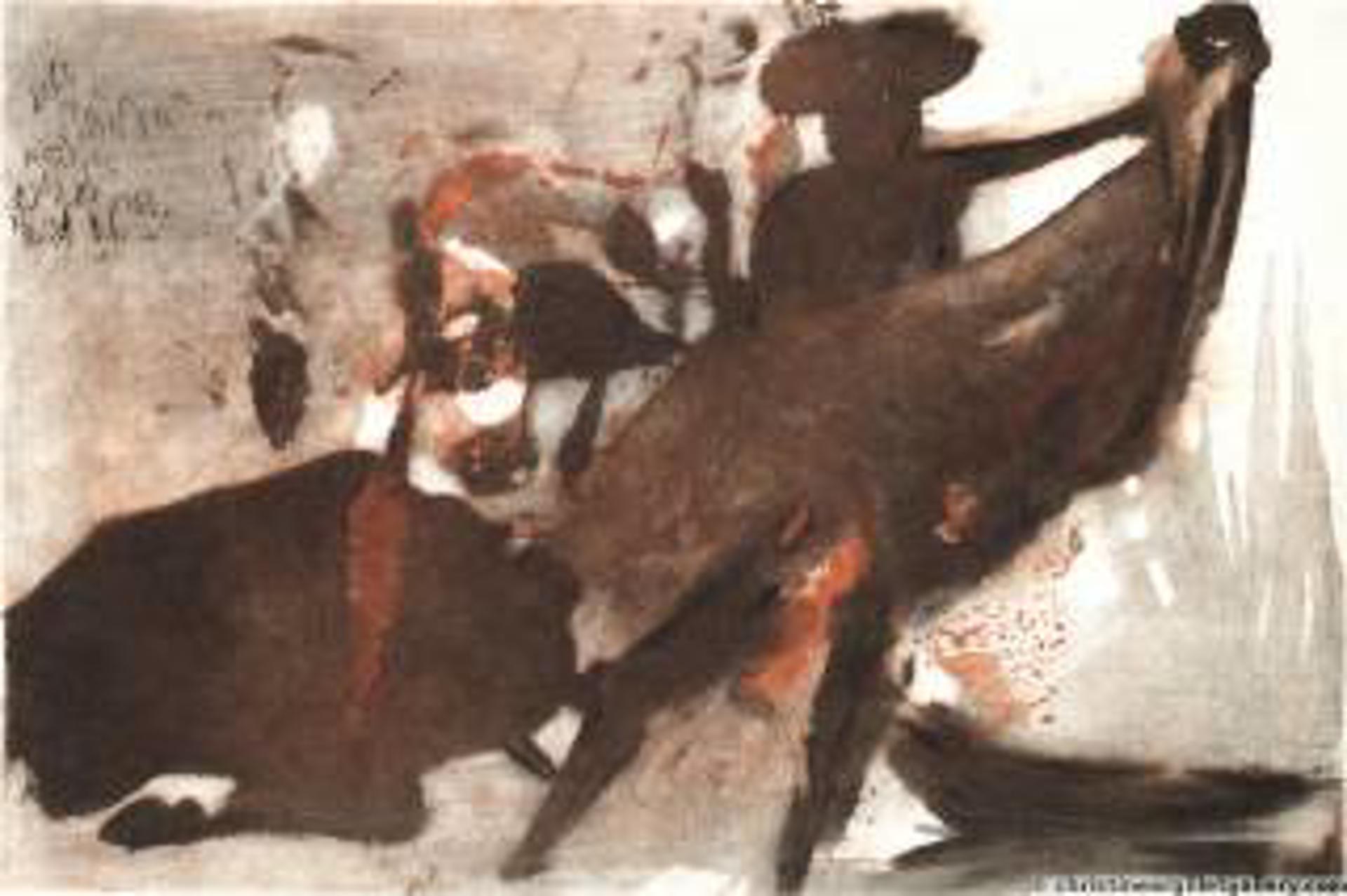 Individual Bullfight by Salvador Dali