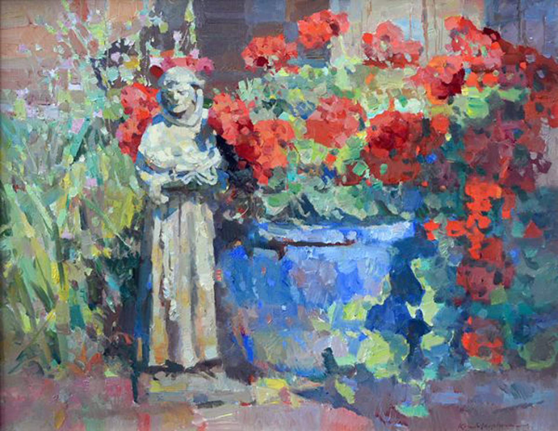 Garden Saint by Kevin Macpherson