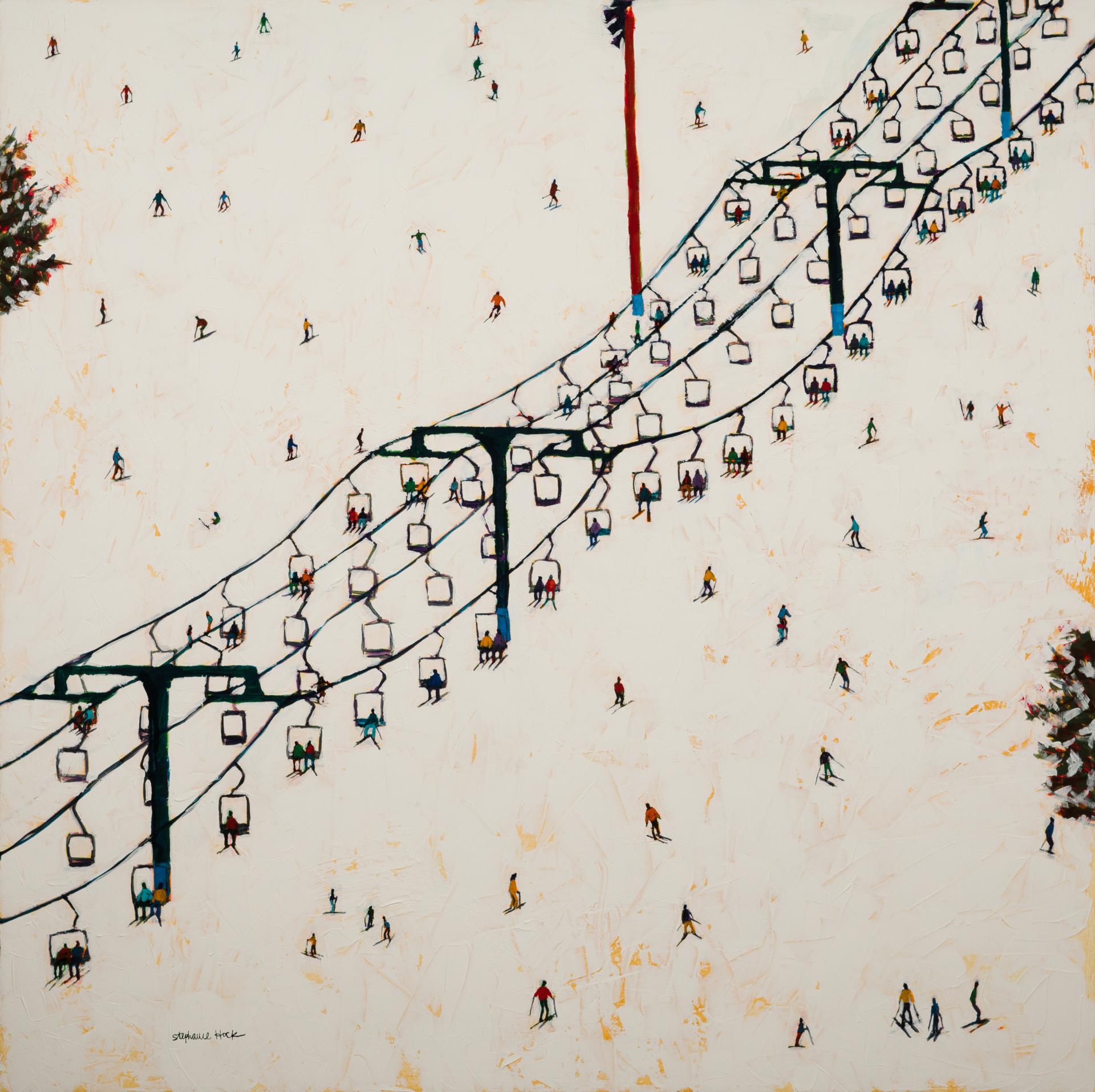 Ski Weekend by Stephanie Hock