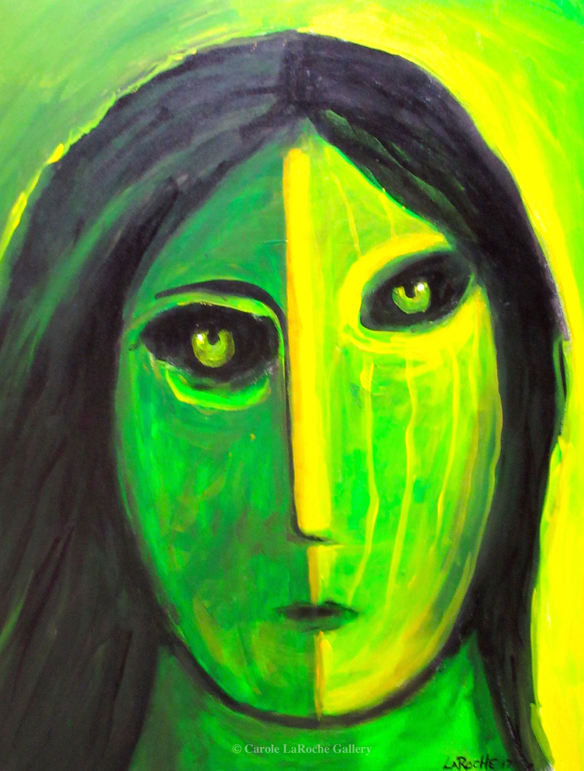 GREEN WARRIOR by Carole LaRoche