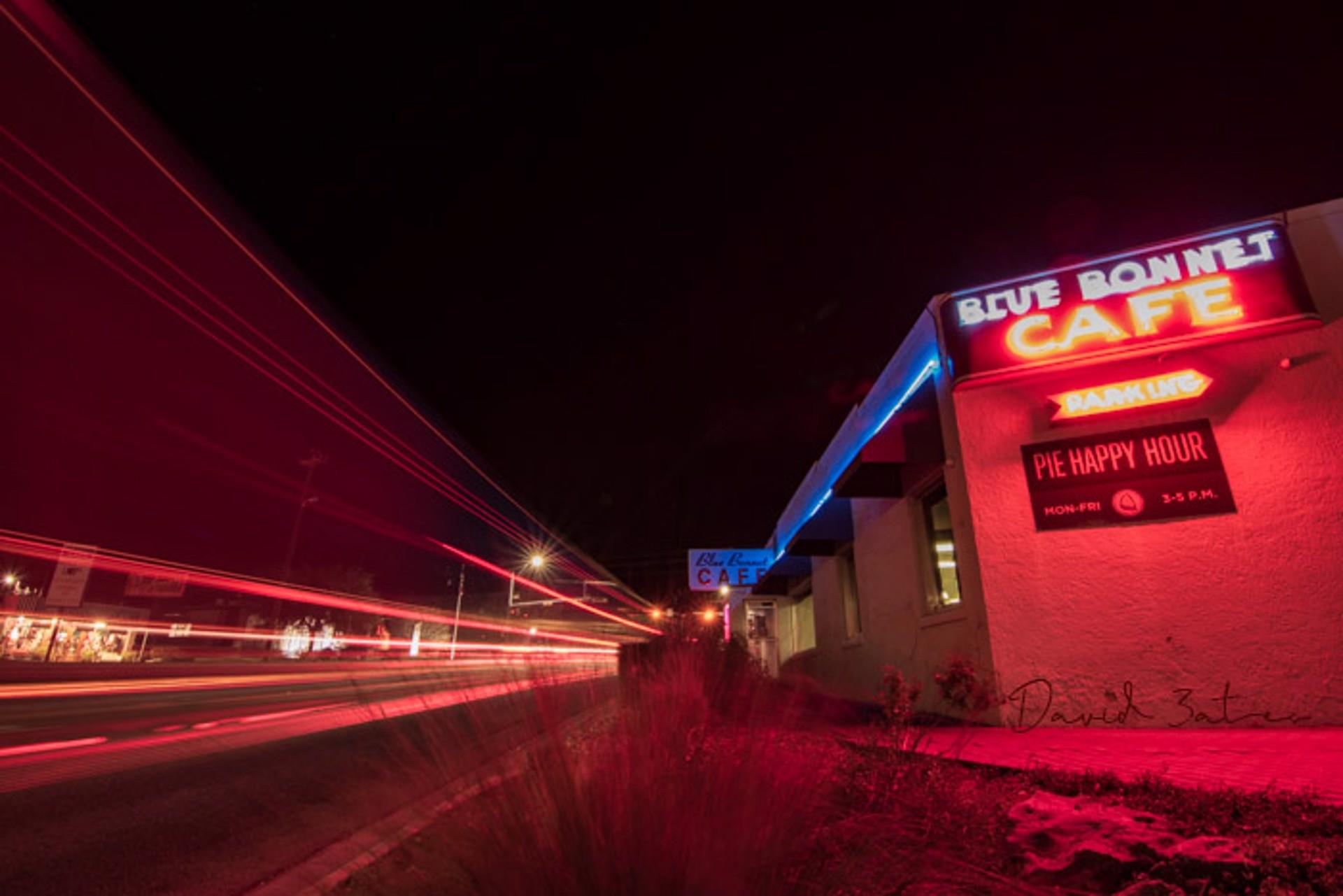 Bluebonnet café by David Bates