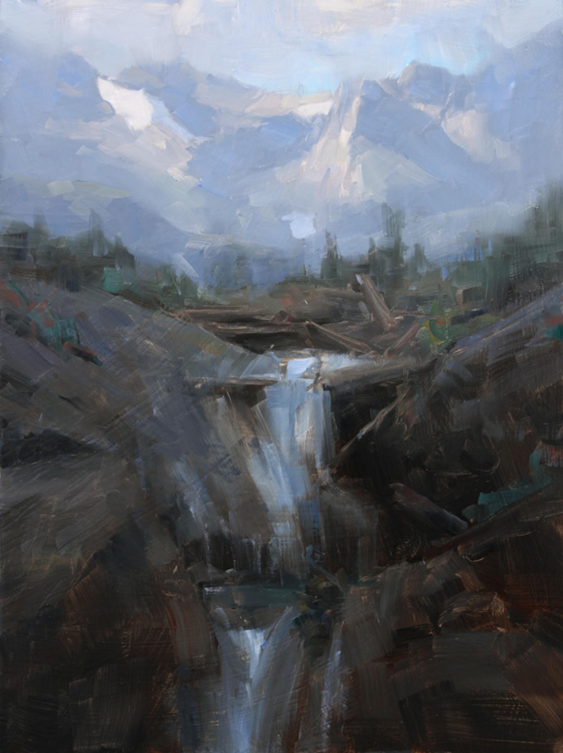 Evening Descent Study by Dave Santillanes