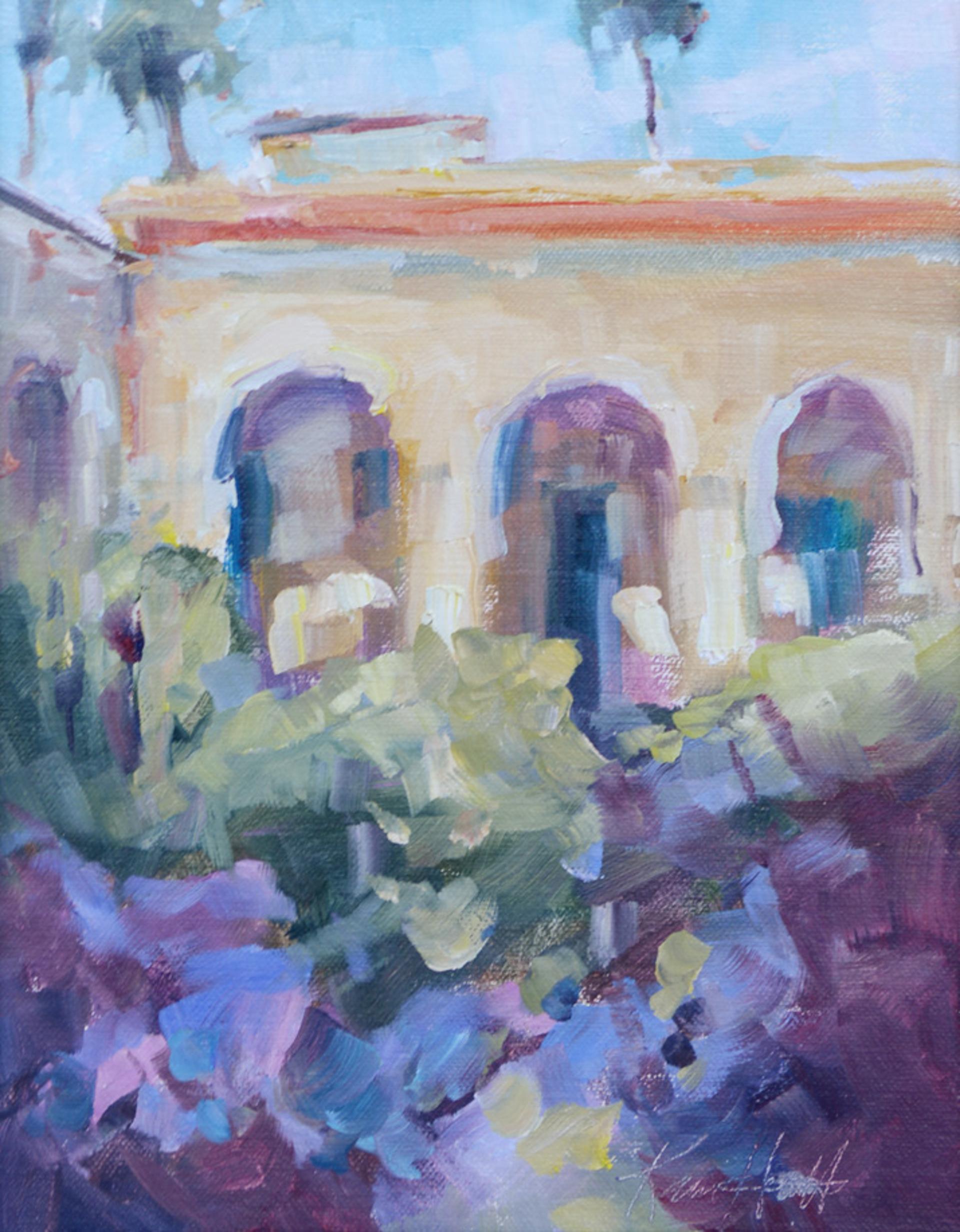 San Juan Capistrano by Karen Hewitt Hagan