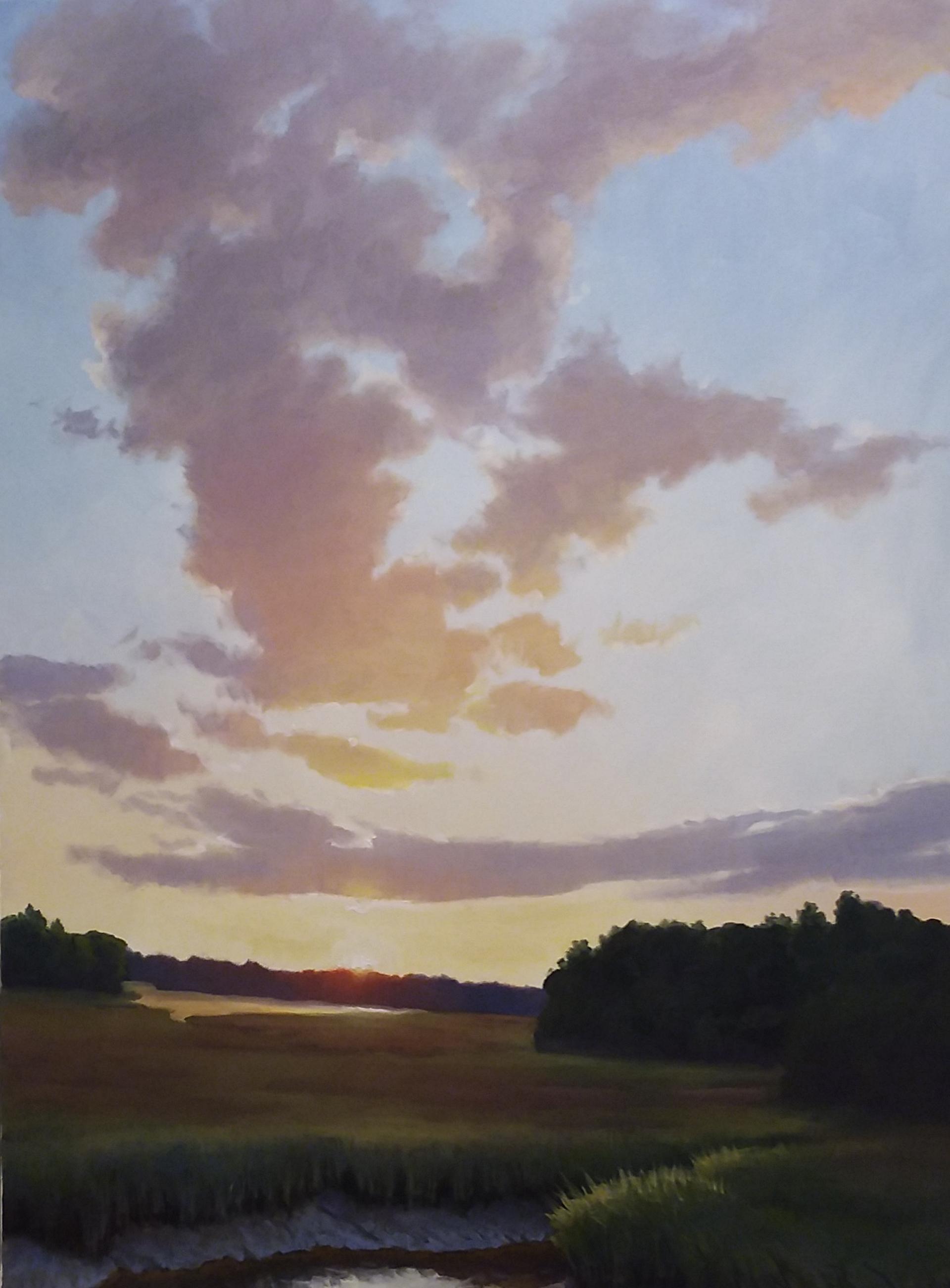 Marsh at Sunset by ARMAND CABRERA