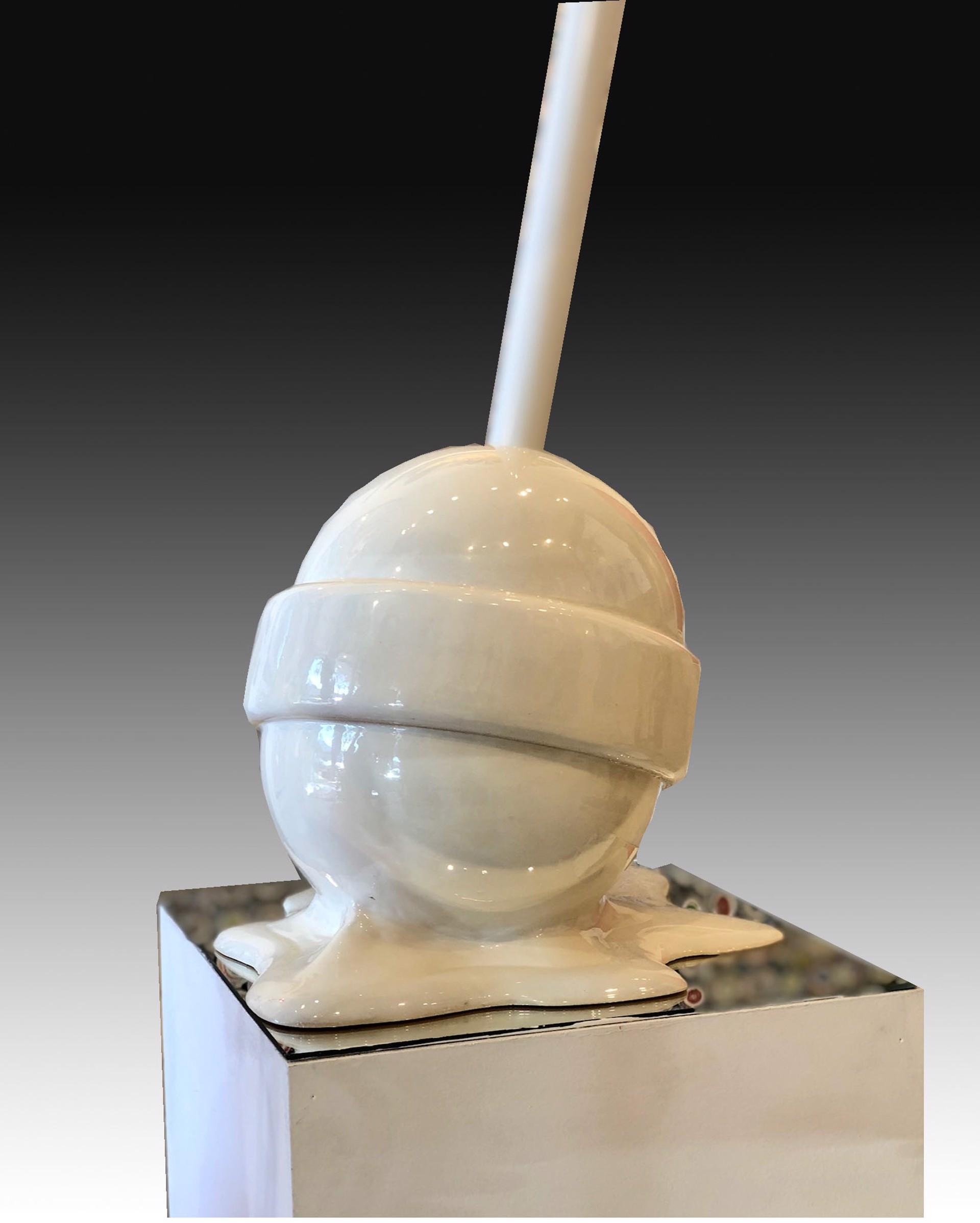 """The Sweet life"" Medium White lollipop by Elena Bulatova"