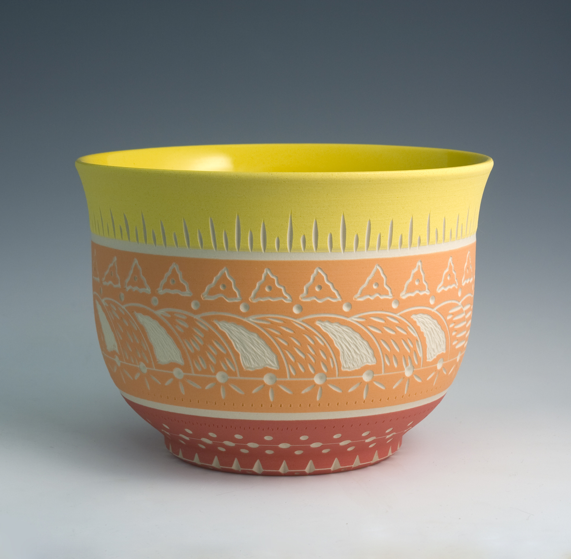 Bowl (Yellow/Orange) by Chris Casey