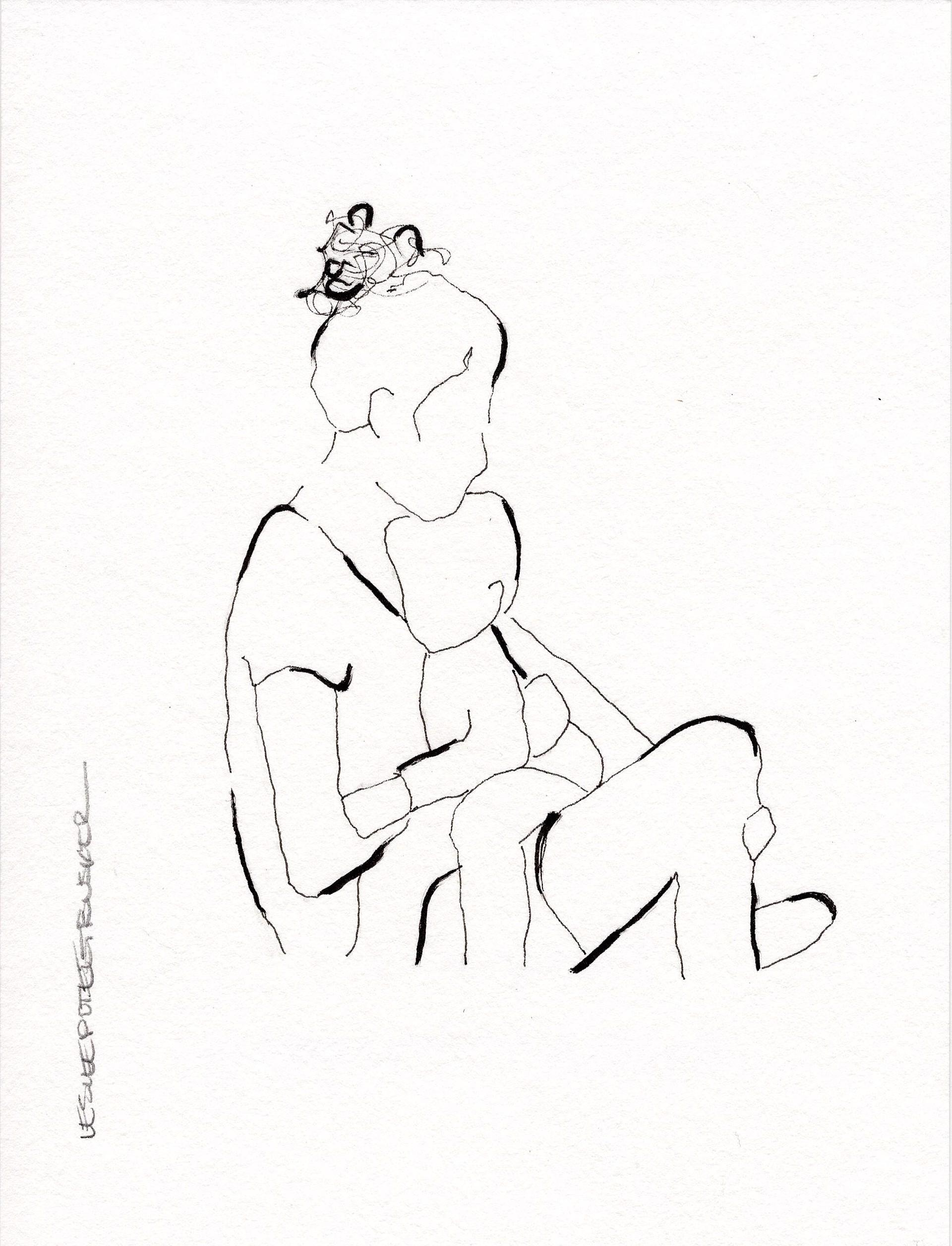 Figure No. 132 by Leslie Poteet Busker