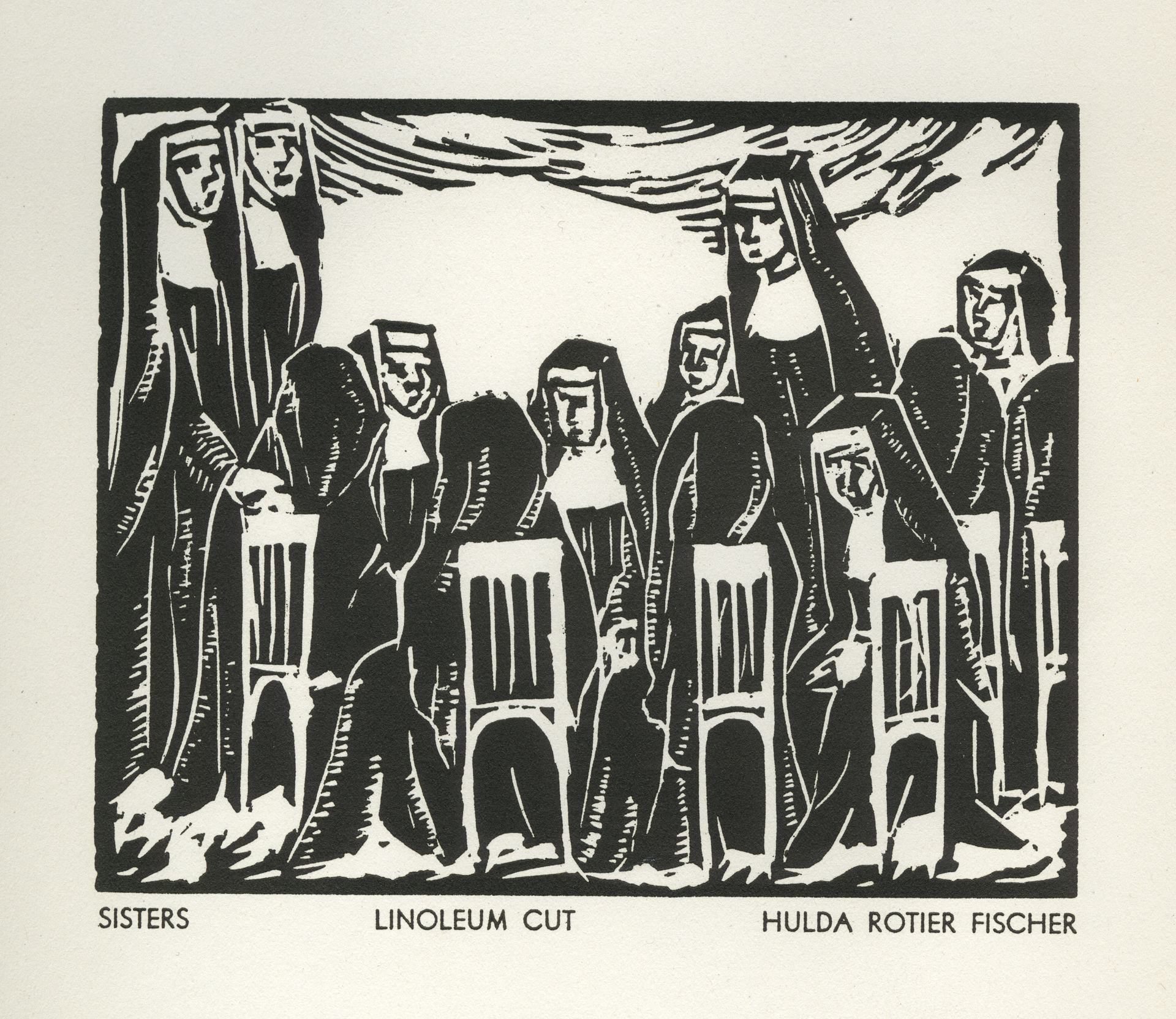 Sisters by Hulda Rotier Fischer