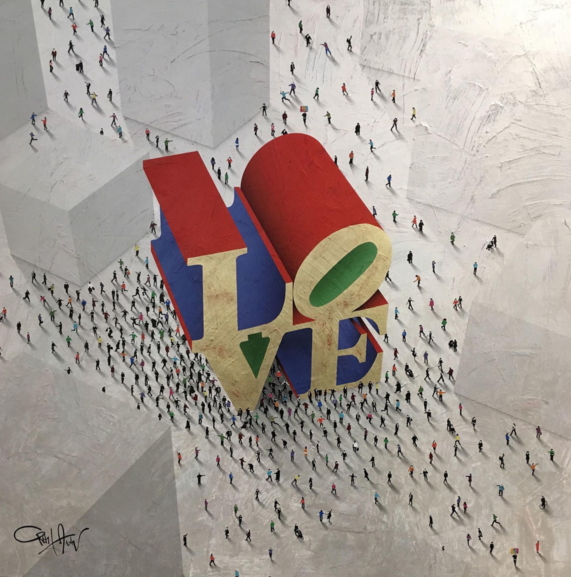 Love Around the Corner (SOLD) by Craig Alan, Populus Homage