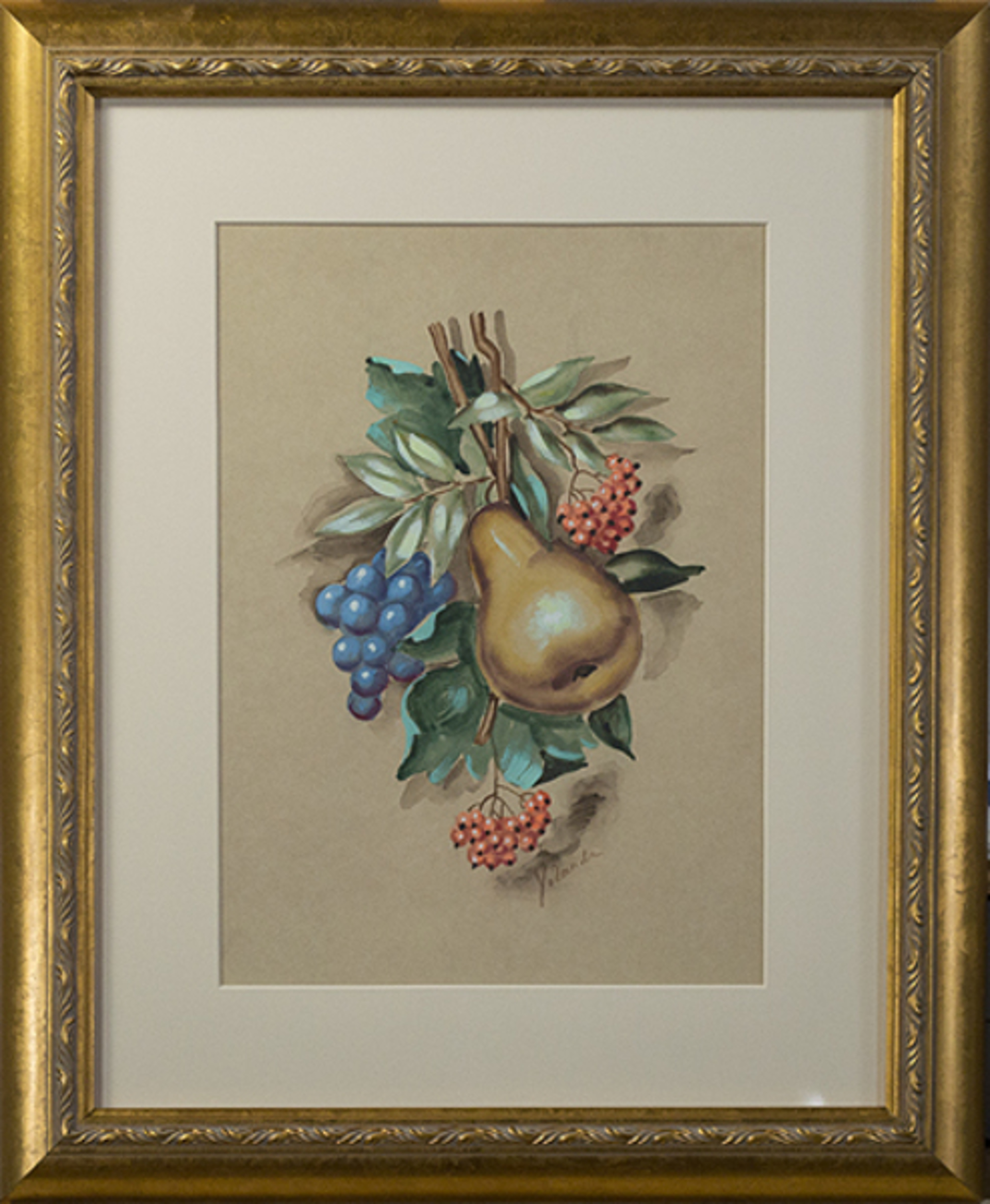 Fruit Still Life by Unknown