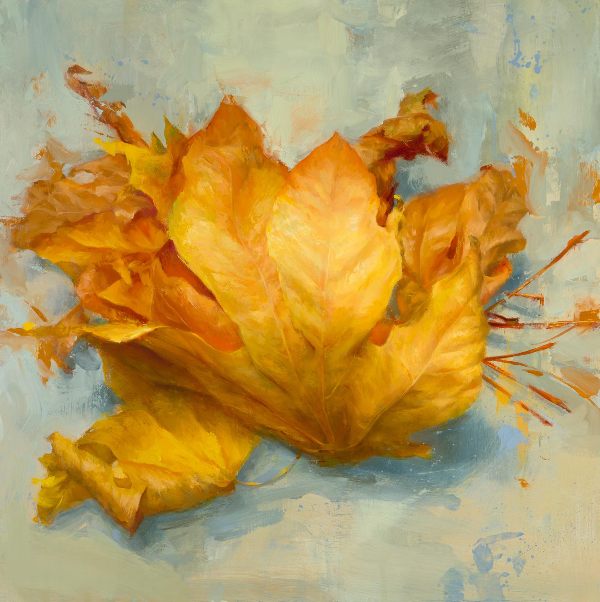 Leaves I by Elizabeth Zanzinger