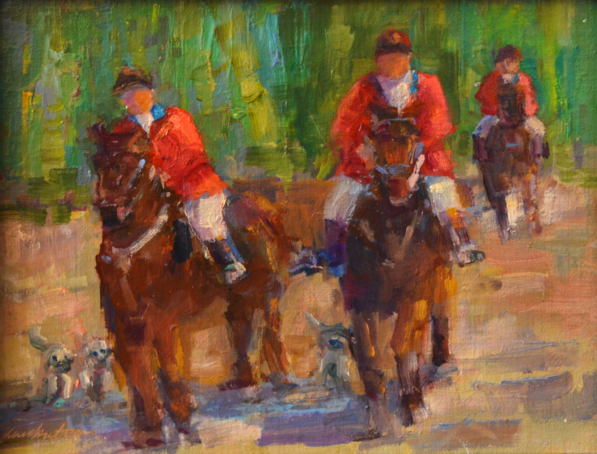 Riding to the Cast by Karen Hewitt Hagan