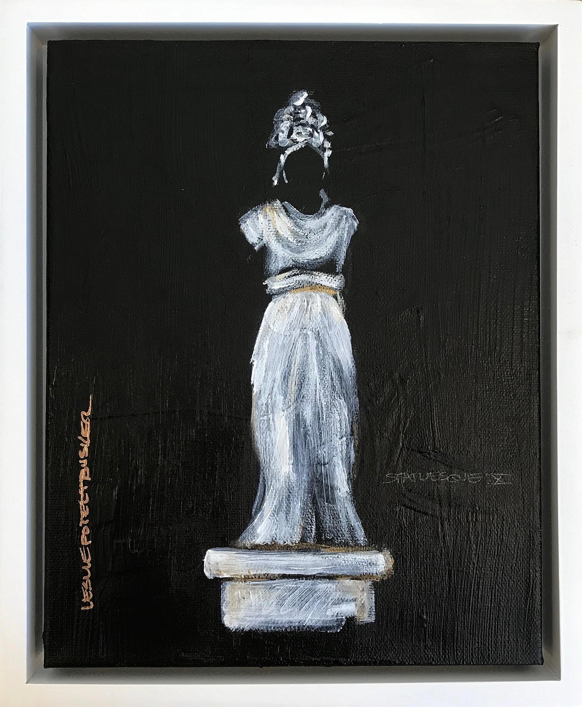 Statuesque X by Leslie Poteet Busker