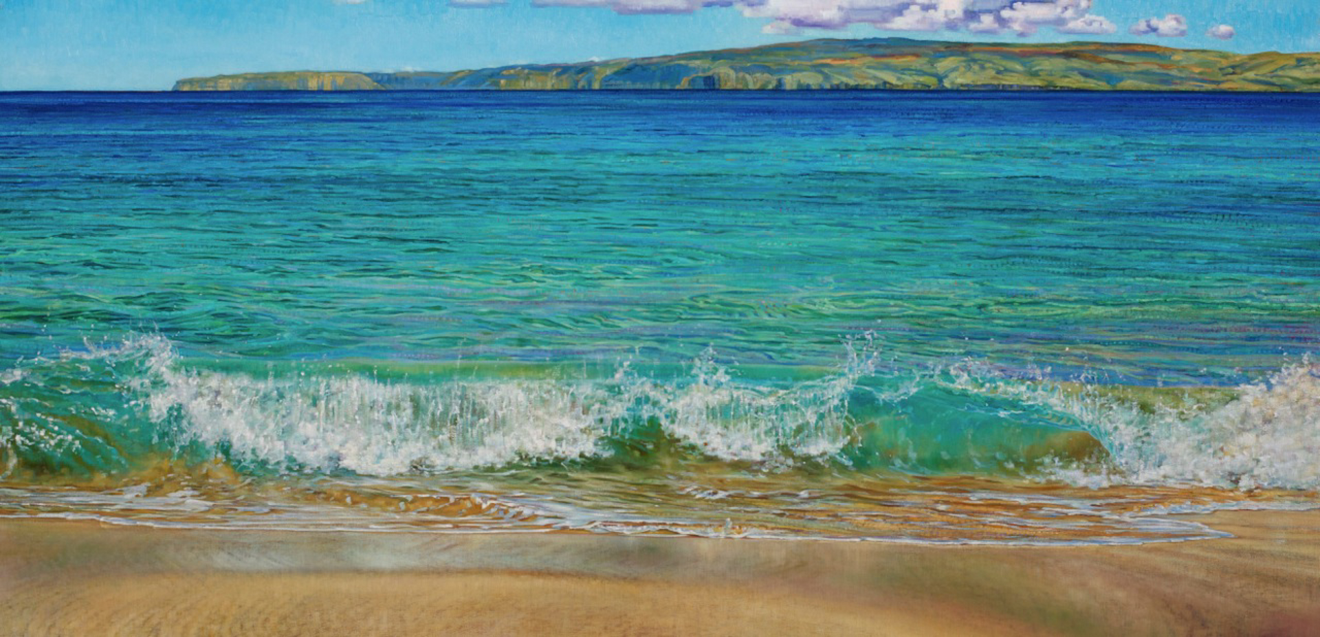 Makena Shorebreak by Caroline Zimmermann