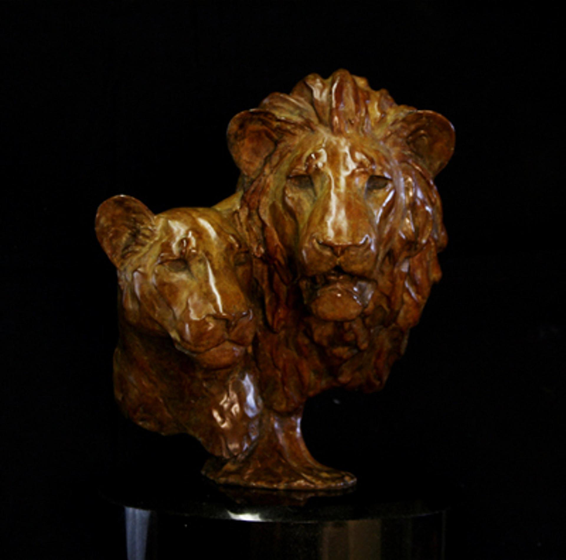 Royalty Lions by Melvin Johansen