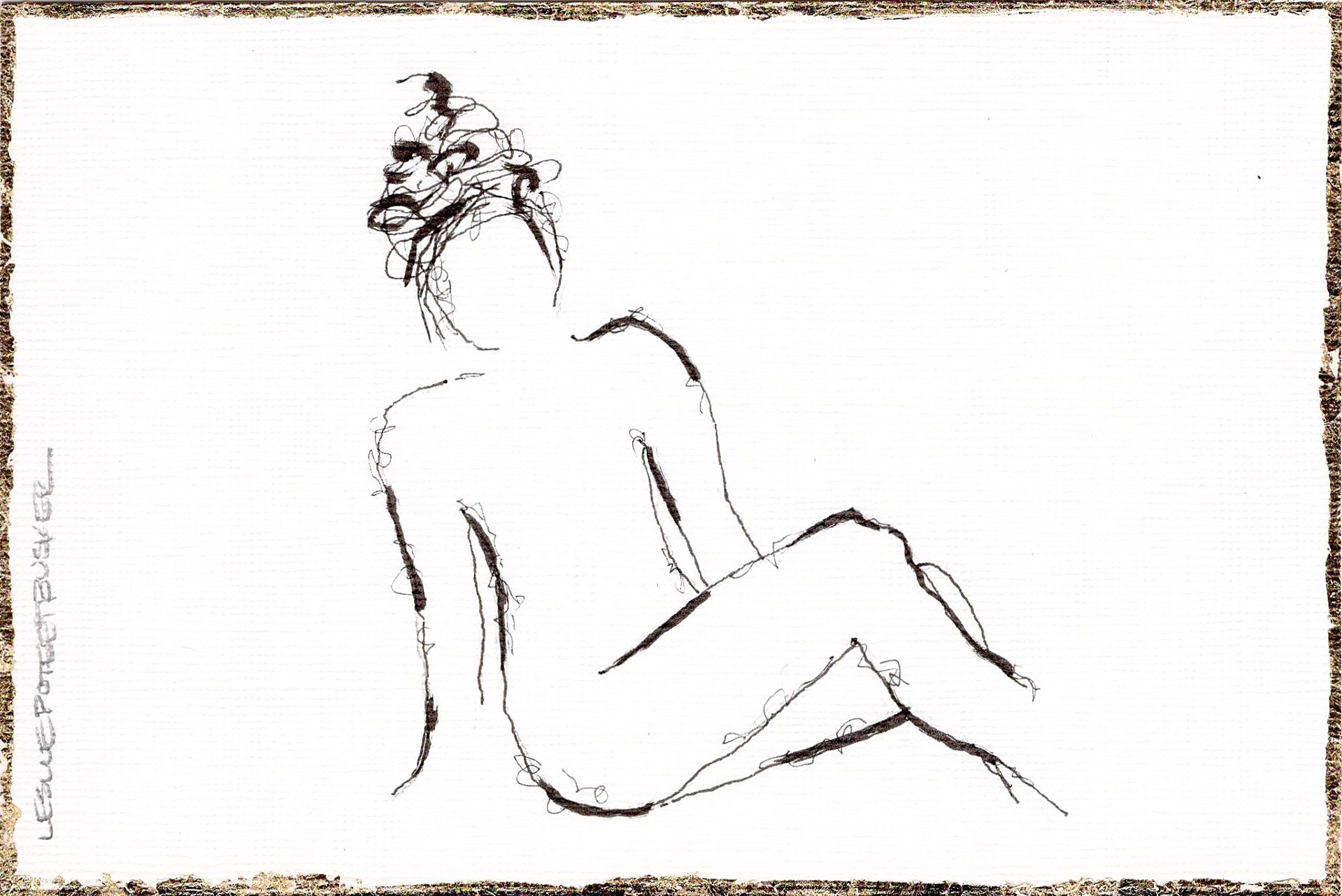 Figure No. 141 by Leslie Poteet Busker