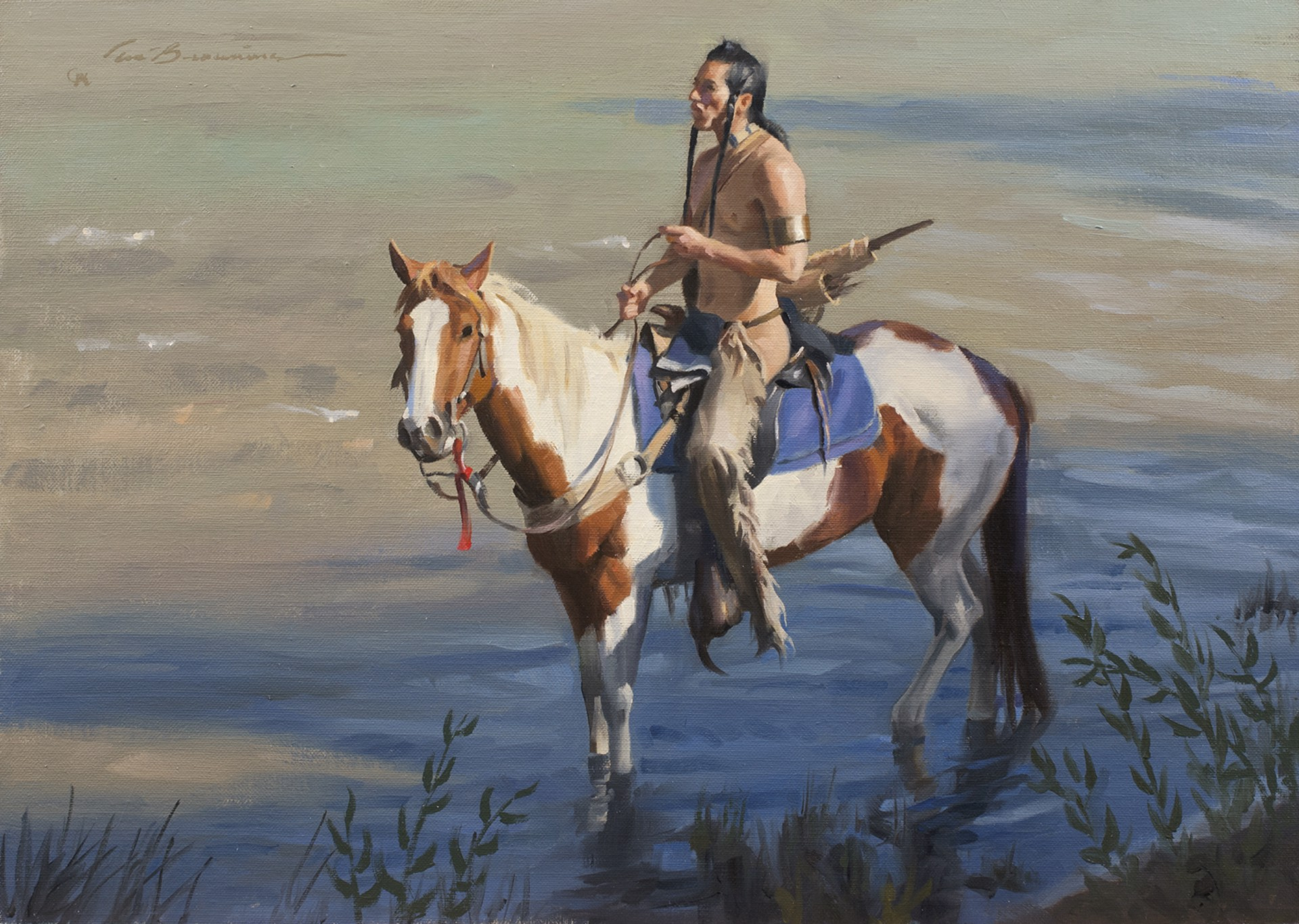 Cavalry Blue by Tom Browning