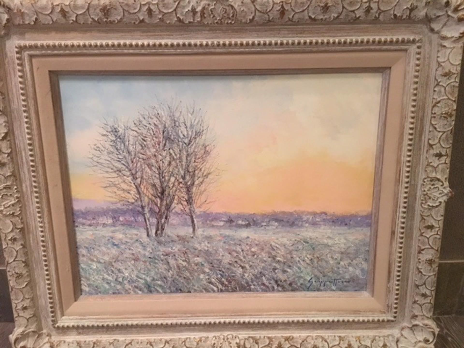 Winter Glow by James Scoppettone