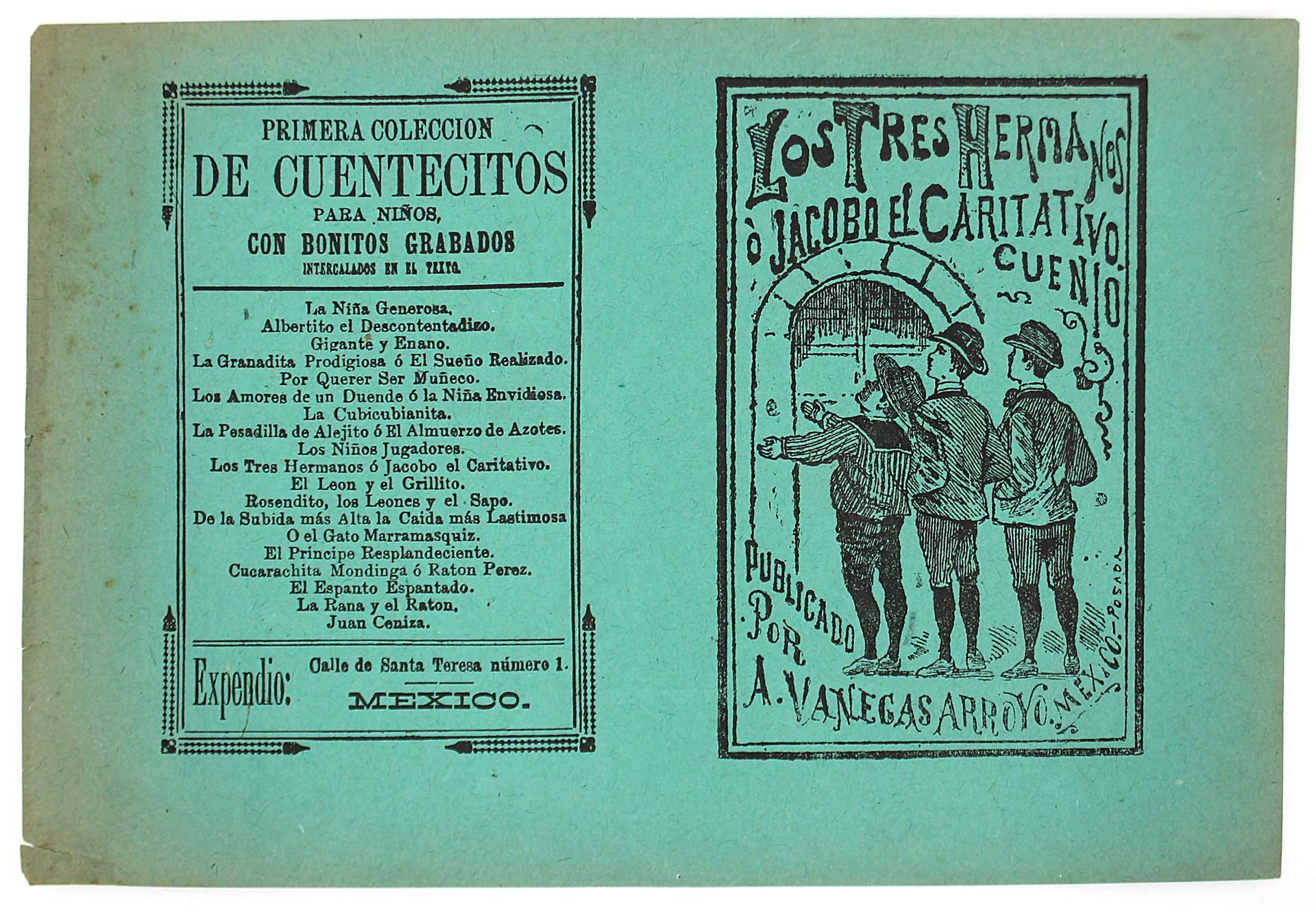 Los Tres Hermanos o Jacobo el caritativo by José Guadalupe Posada (1852 - 1913)