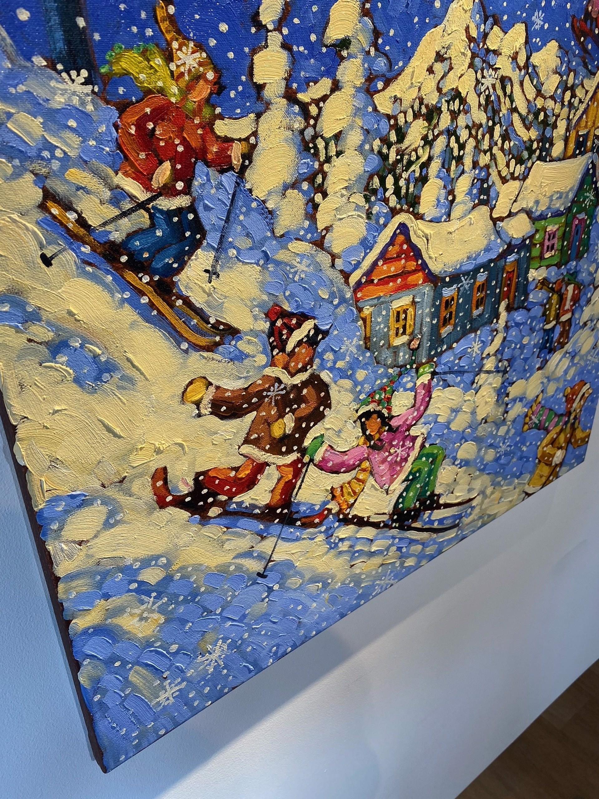 Rod Charlesworth - Snowflake Magic  by Historical Art