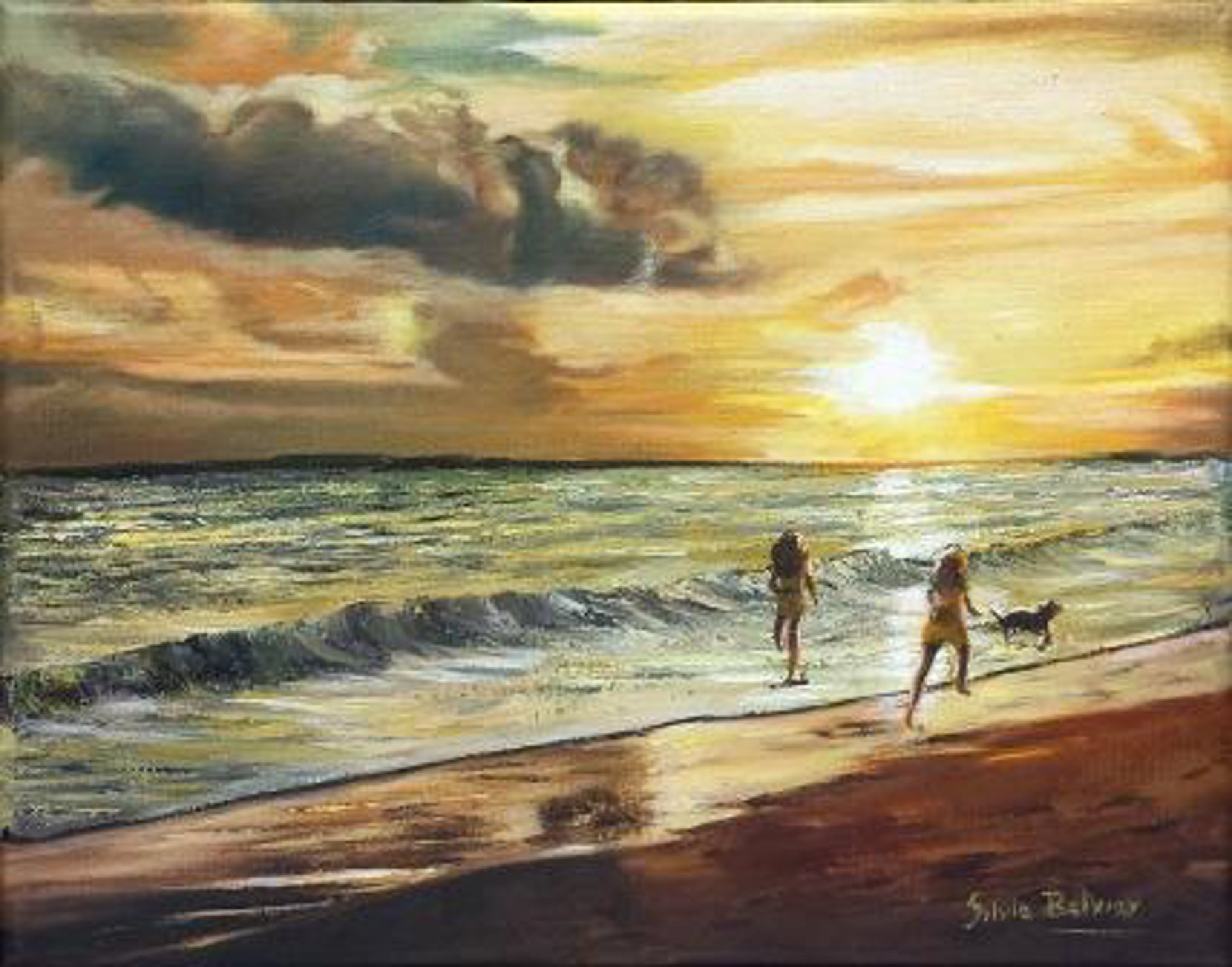 Fun on the Beach by Silvia Belviso
