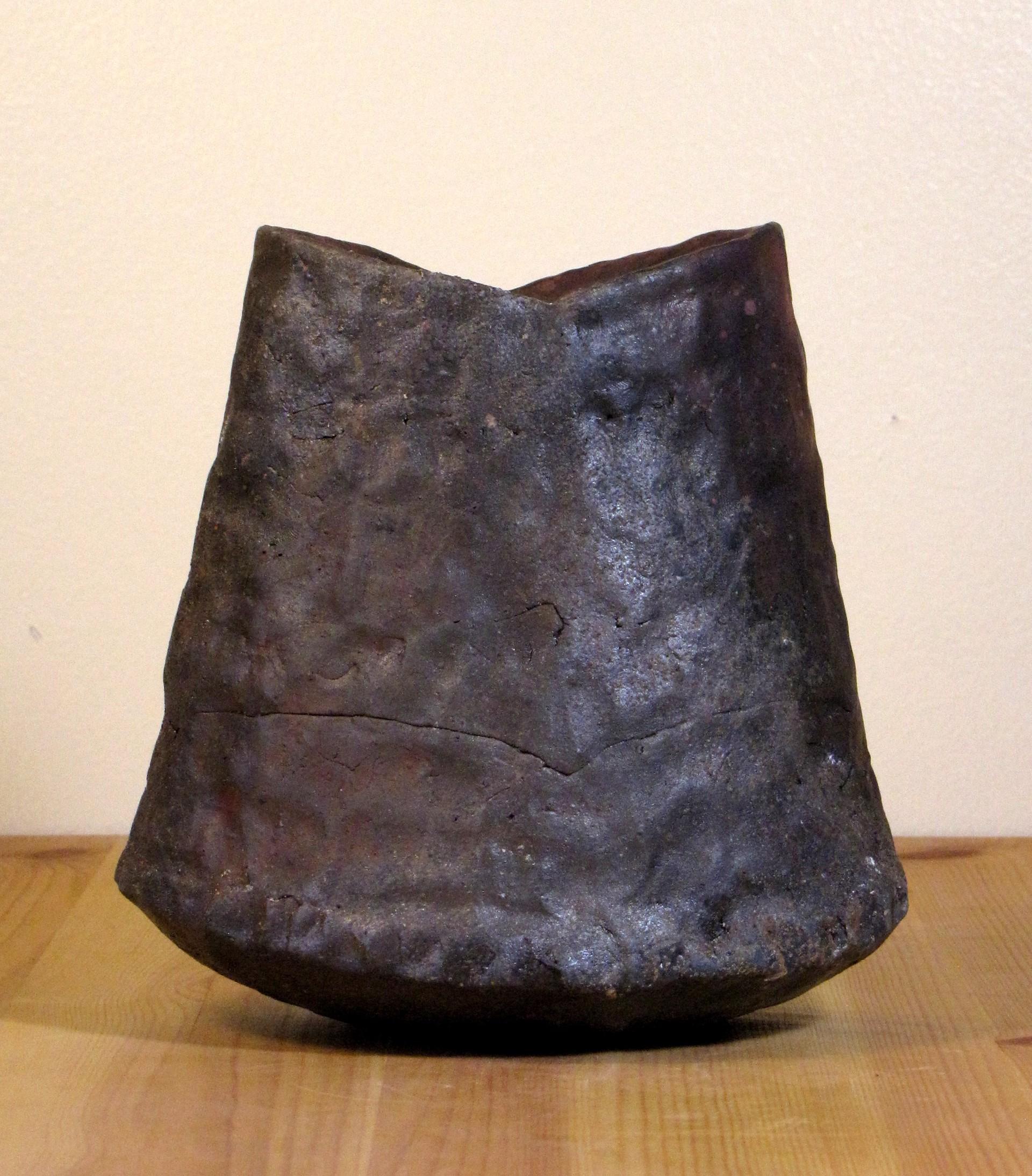 Maroon Small Jar by Shasta Krueger