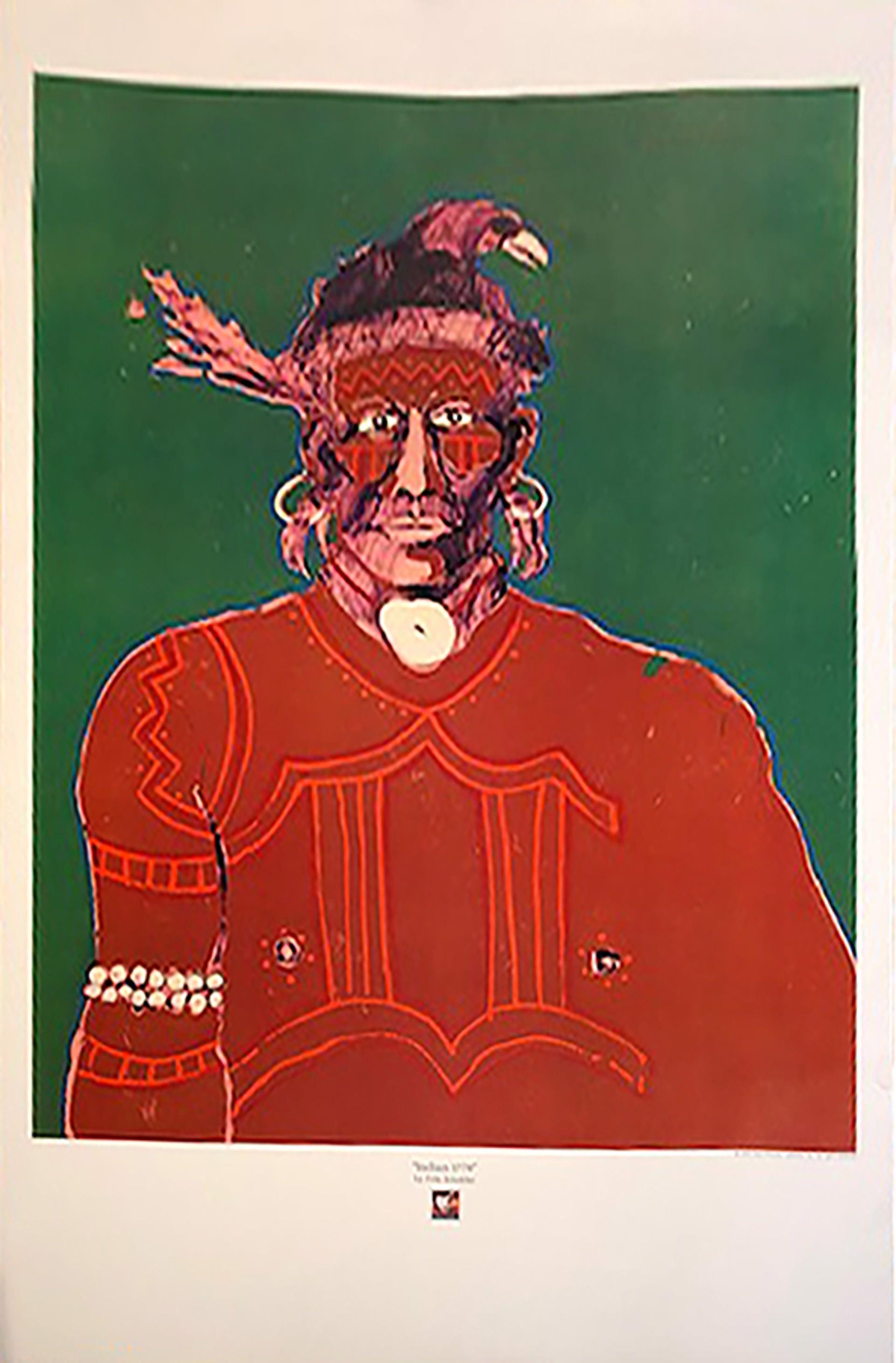 Indian 1776 by Fritz Scholder