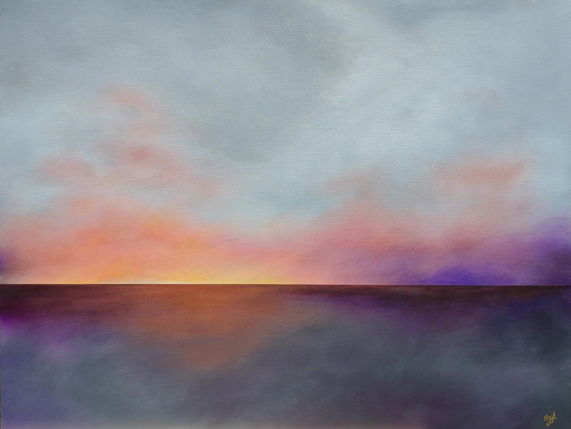 New Horizon No. 1 by Lisa Ledson