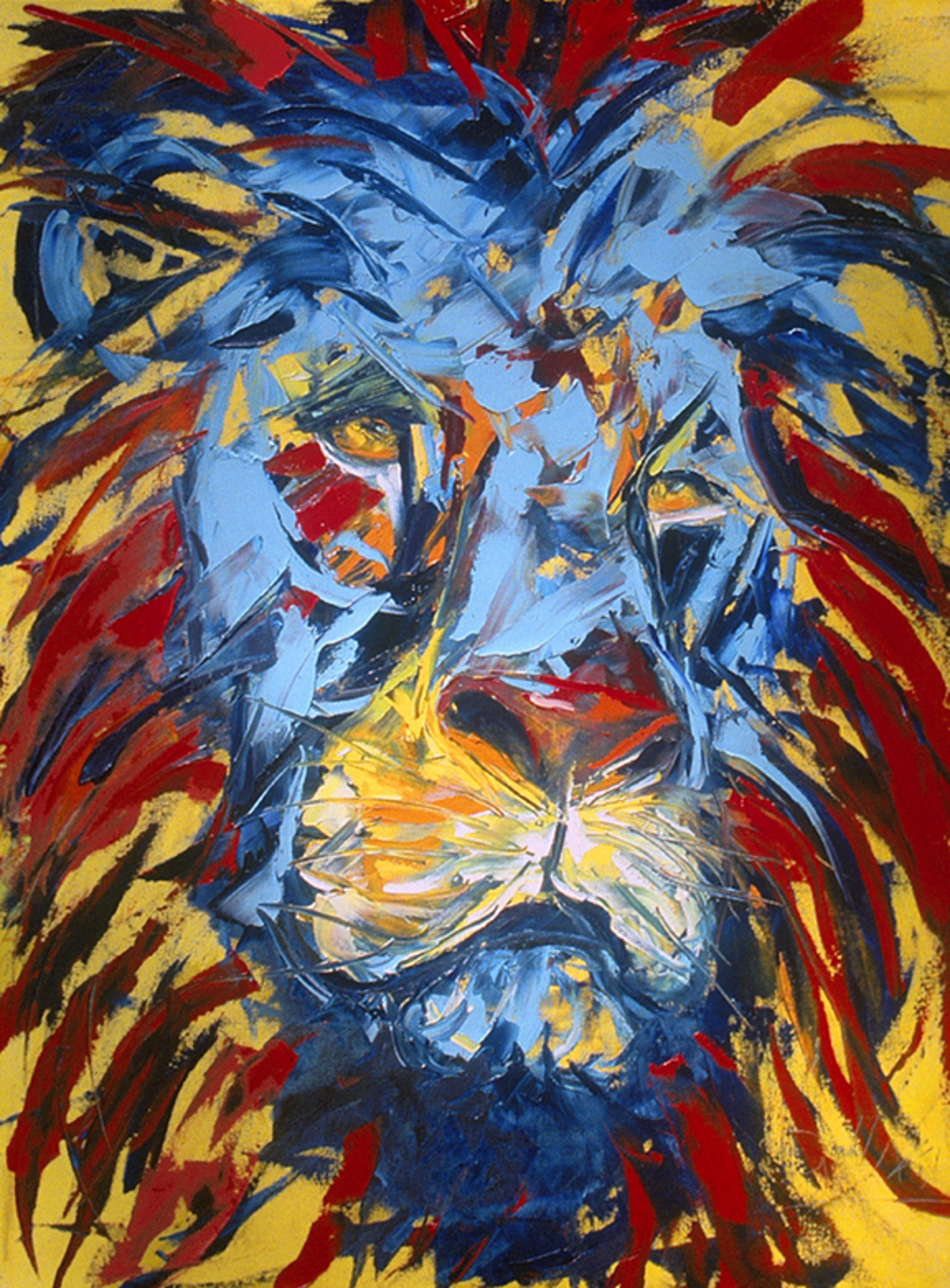 Lion by Kathy Sullivan -- Giclee Prints