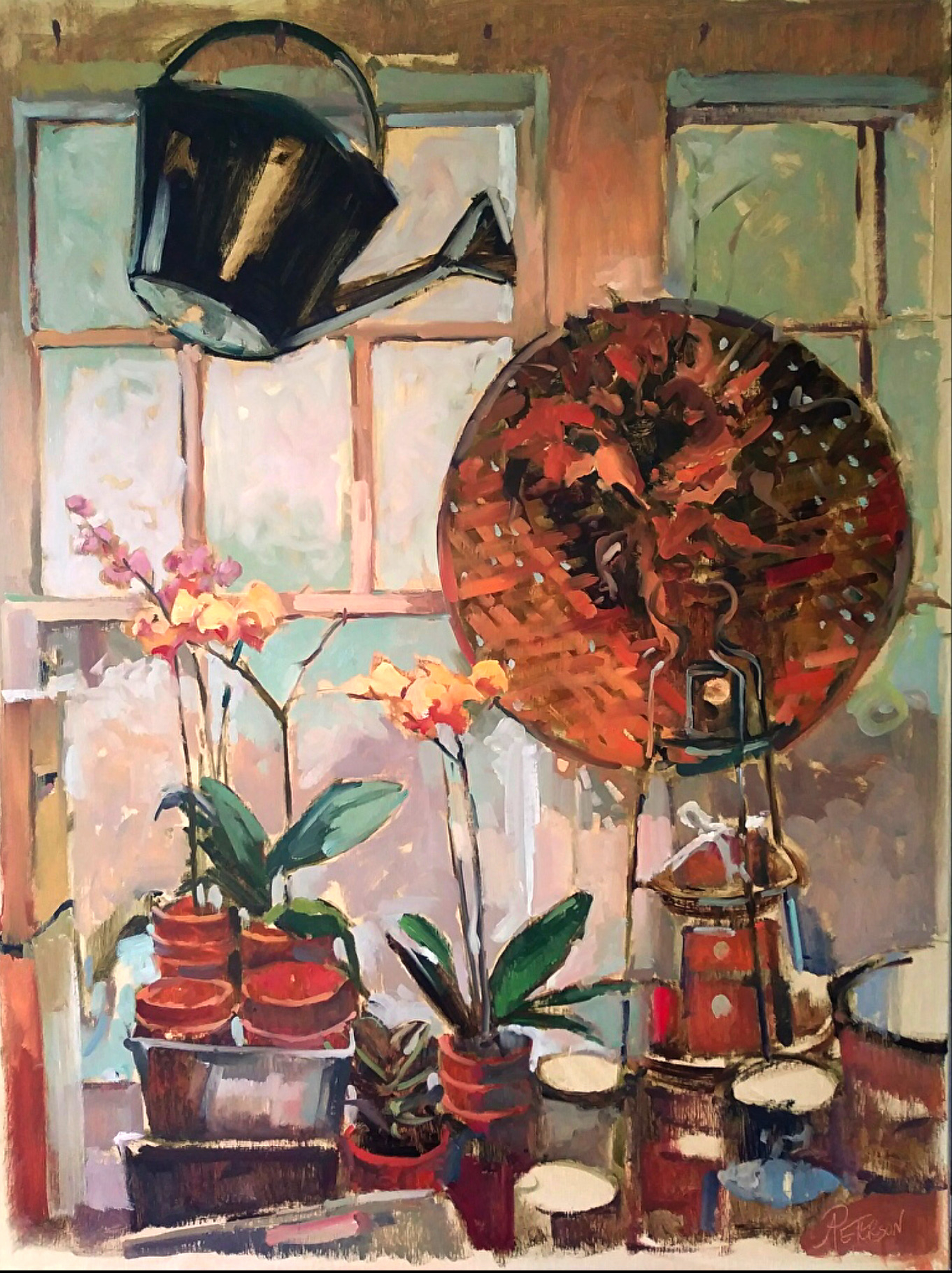 Garden Window I by Amy R. Peterson