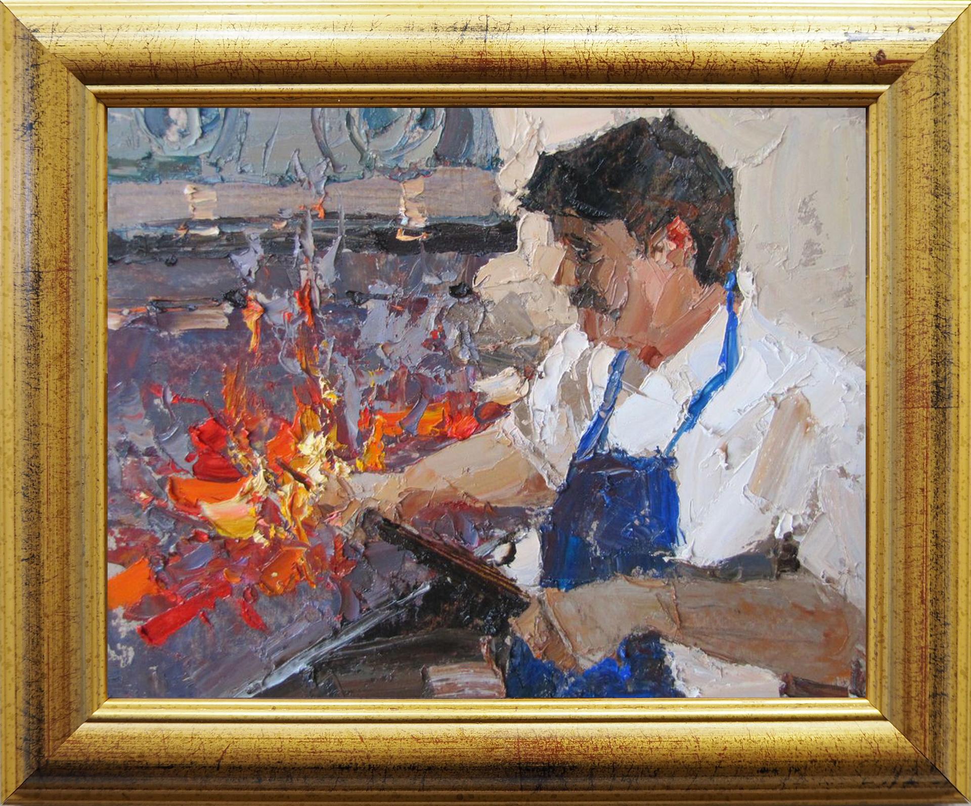 On Coals by Daniil Volkov