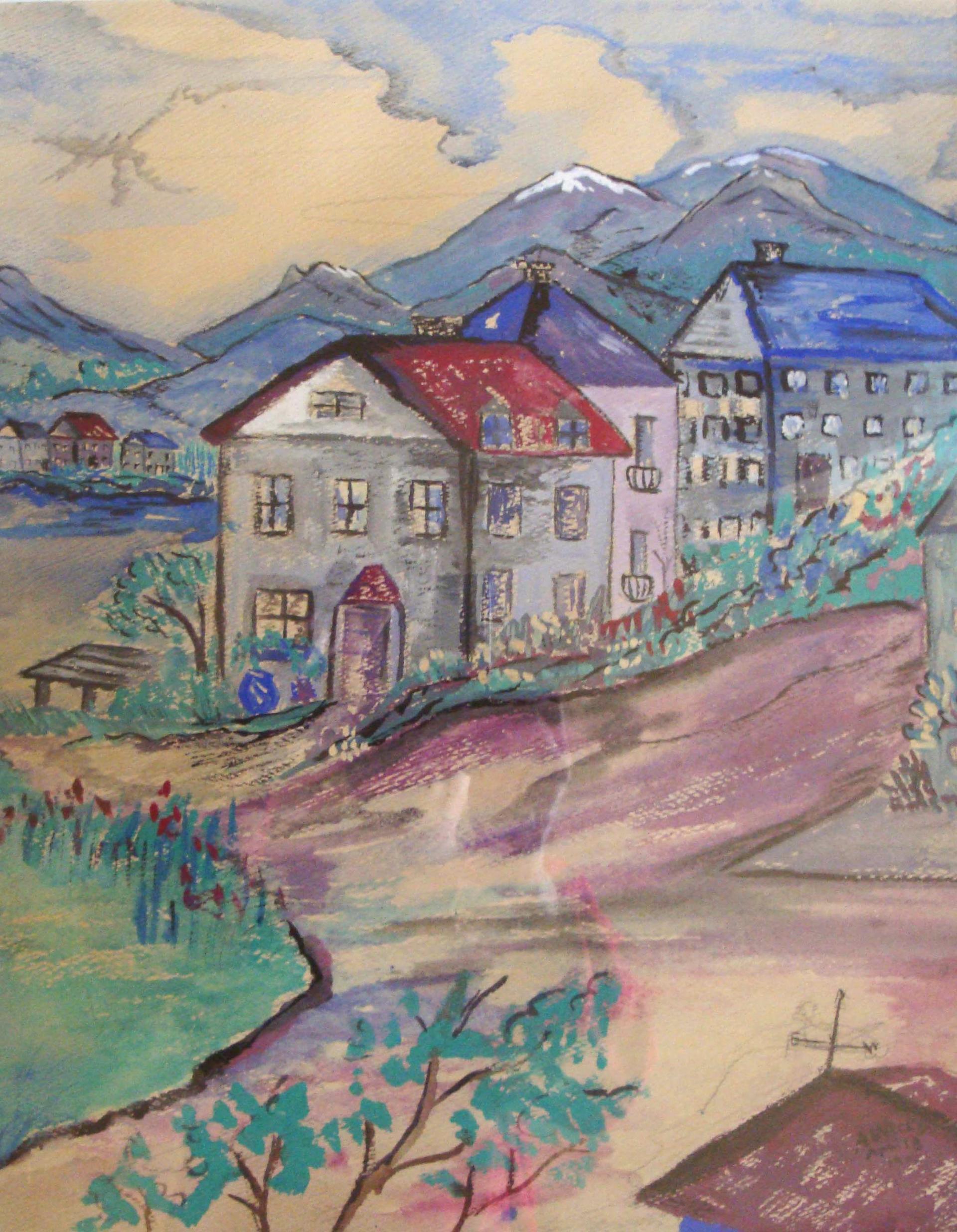 Alpine Village by Arthur Weeks