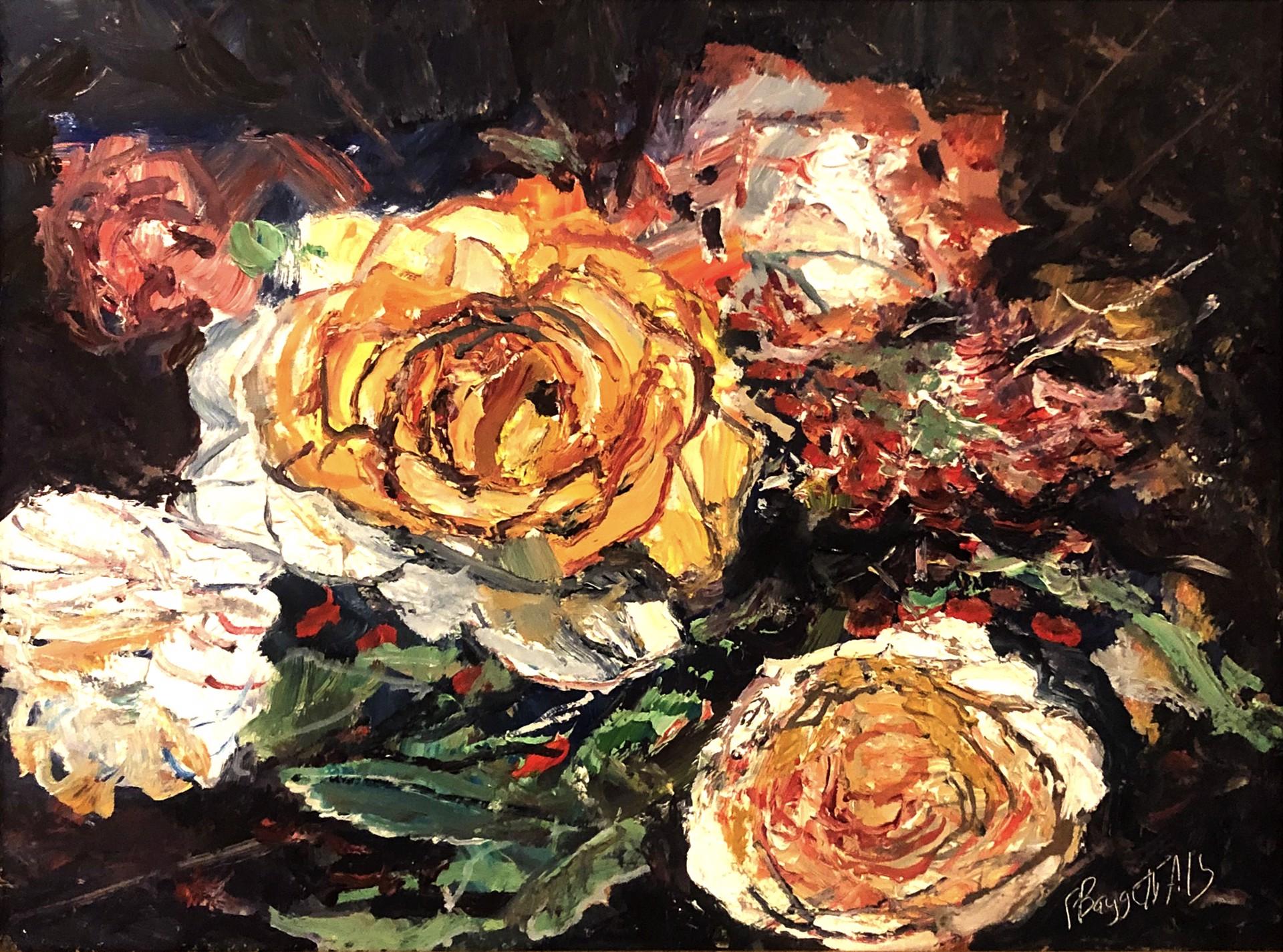 Flower Study by Frank Baggett