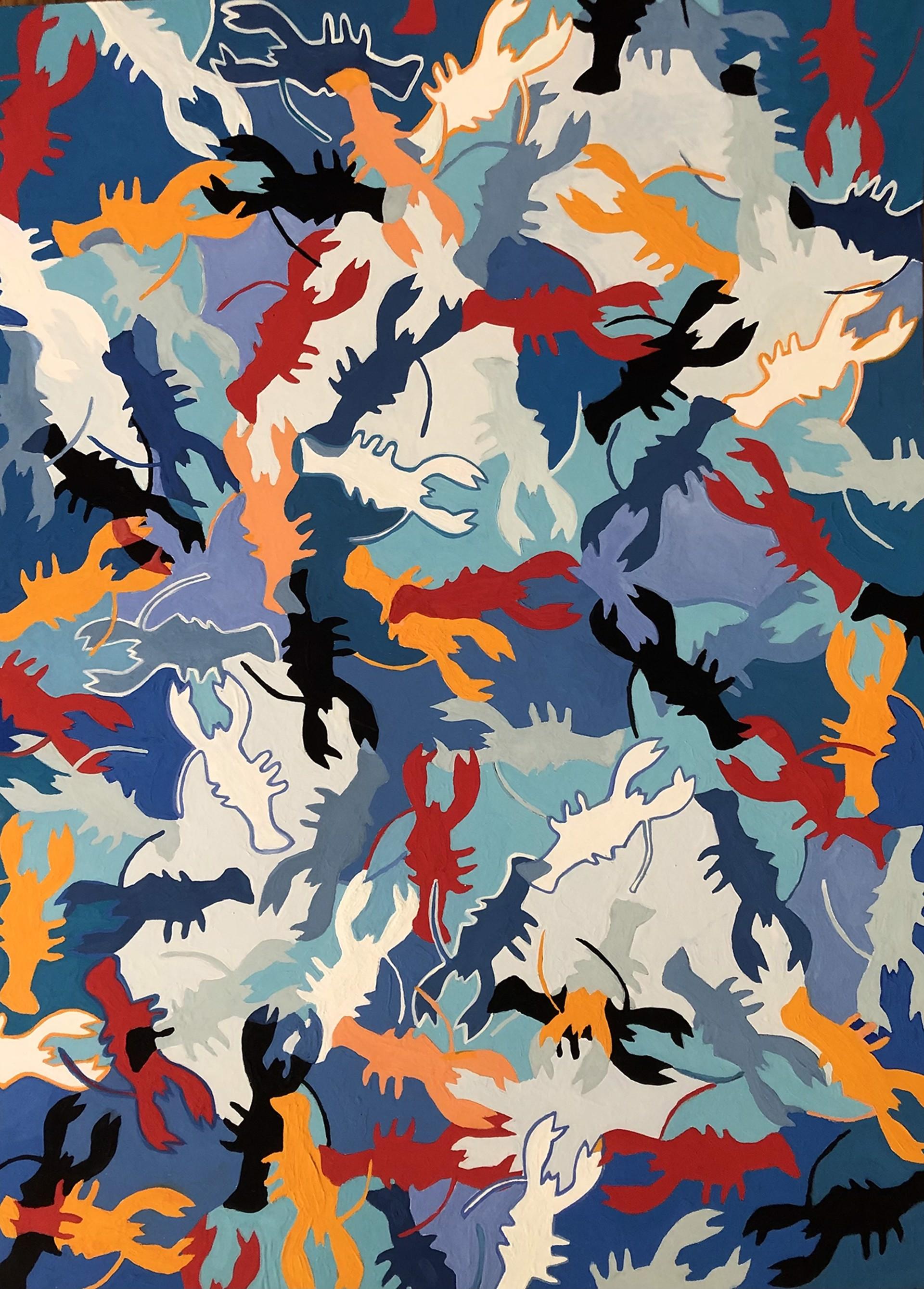Lobster Freedom #2 by Lennie Alickman