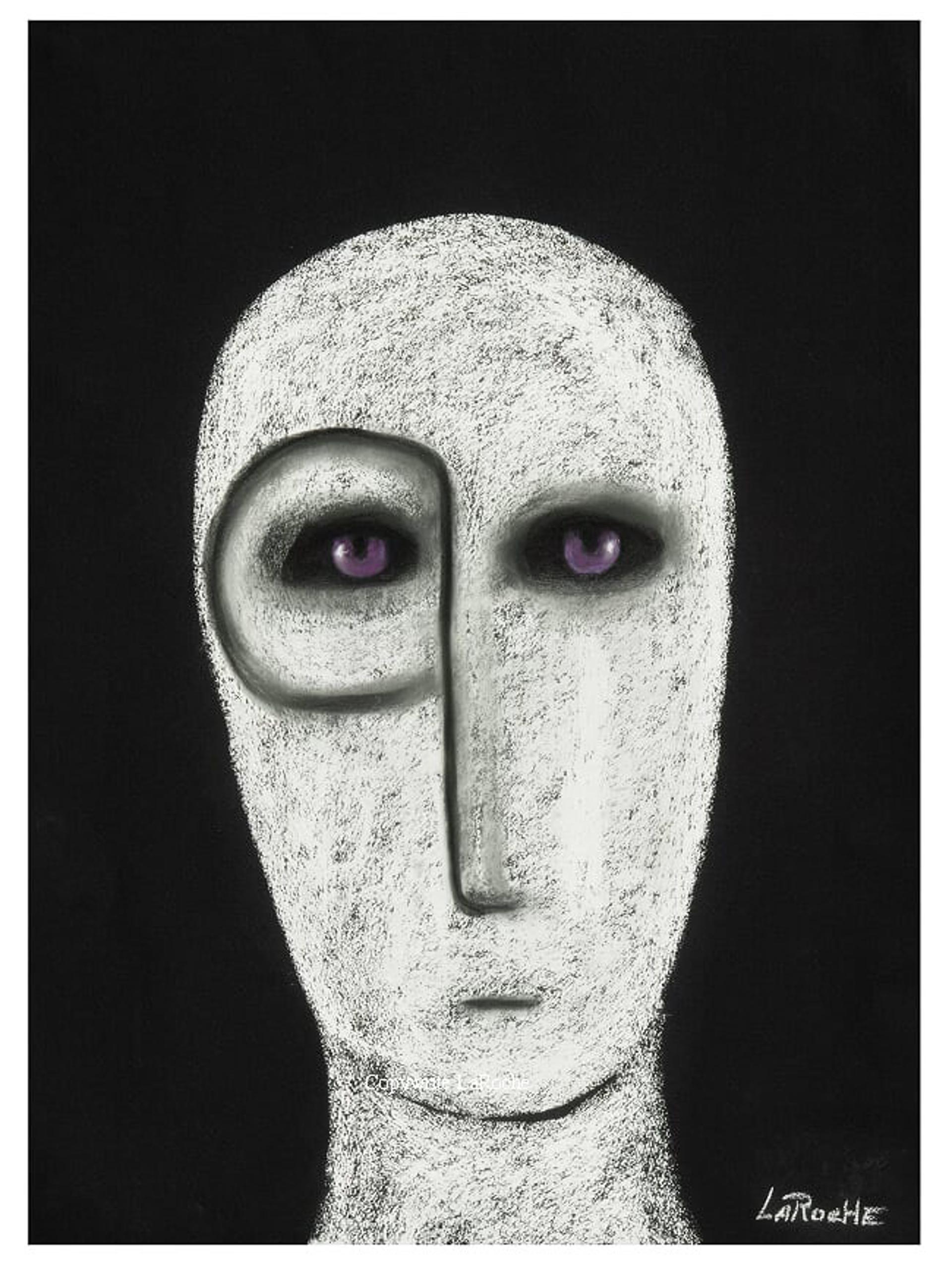 WHITE SHAMAN 43 by Carole LaRoche