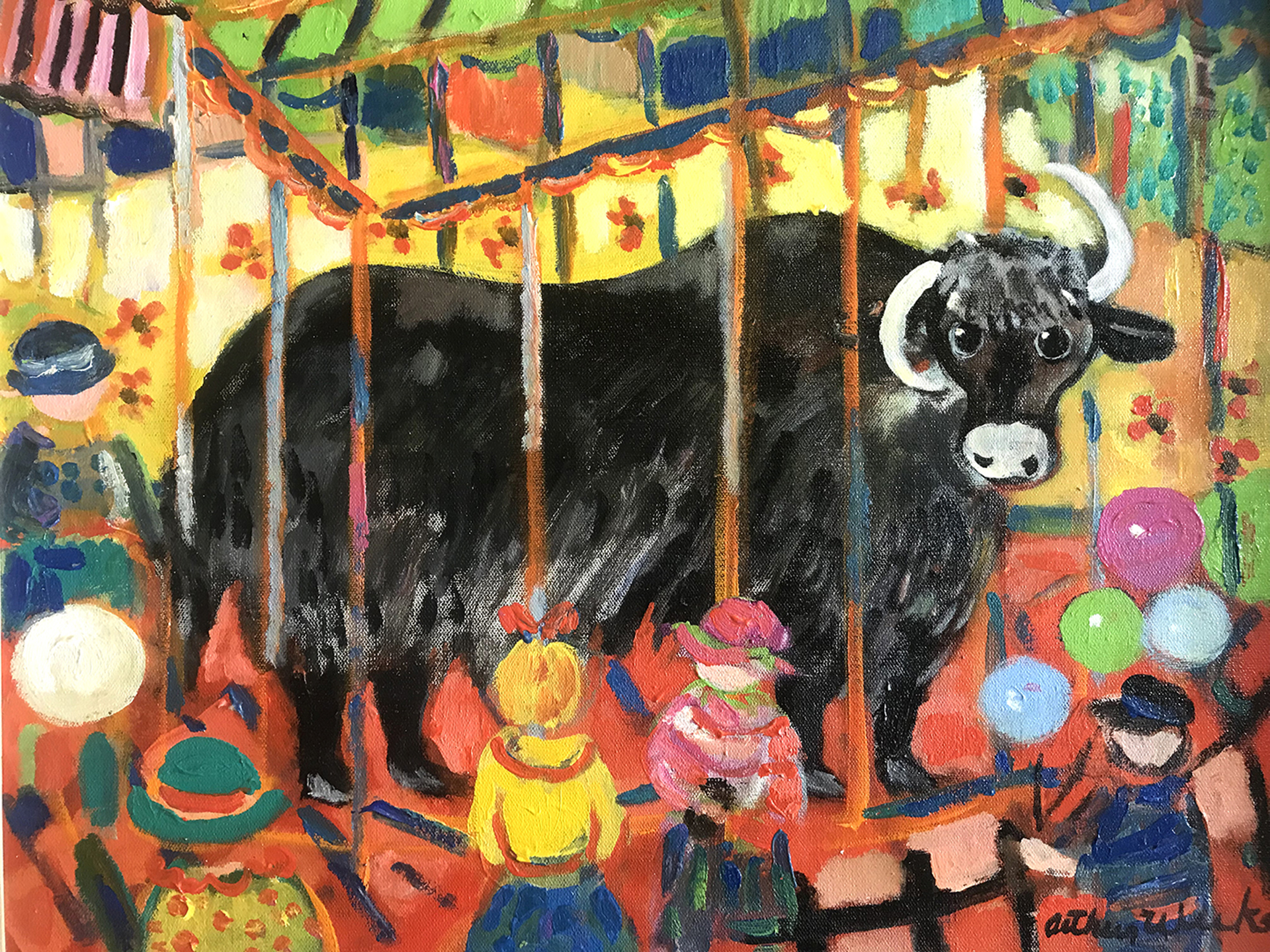 Yak at Central Park Zoo by Arthur Weeks