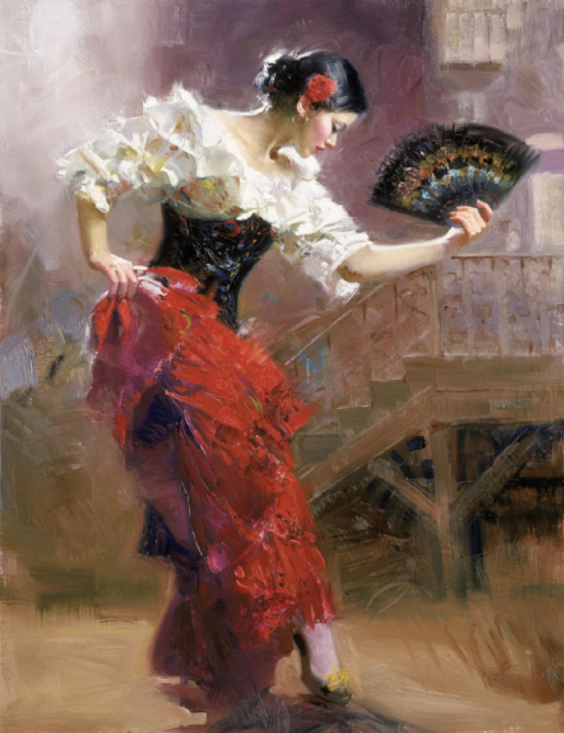 Spanish Dancer by Pino