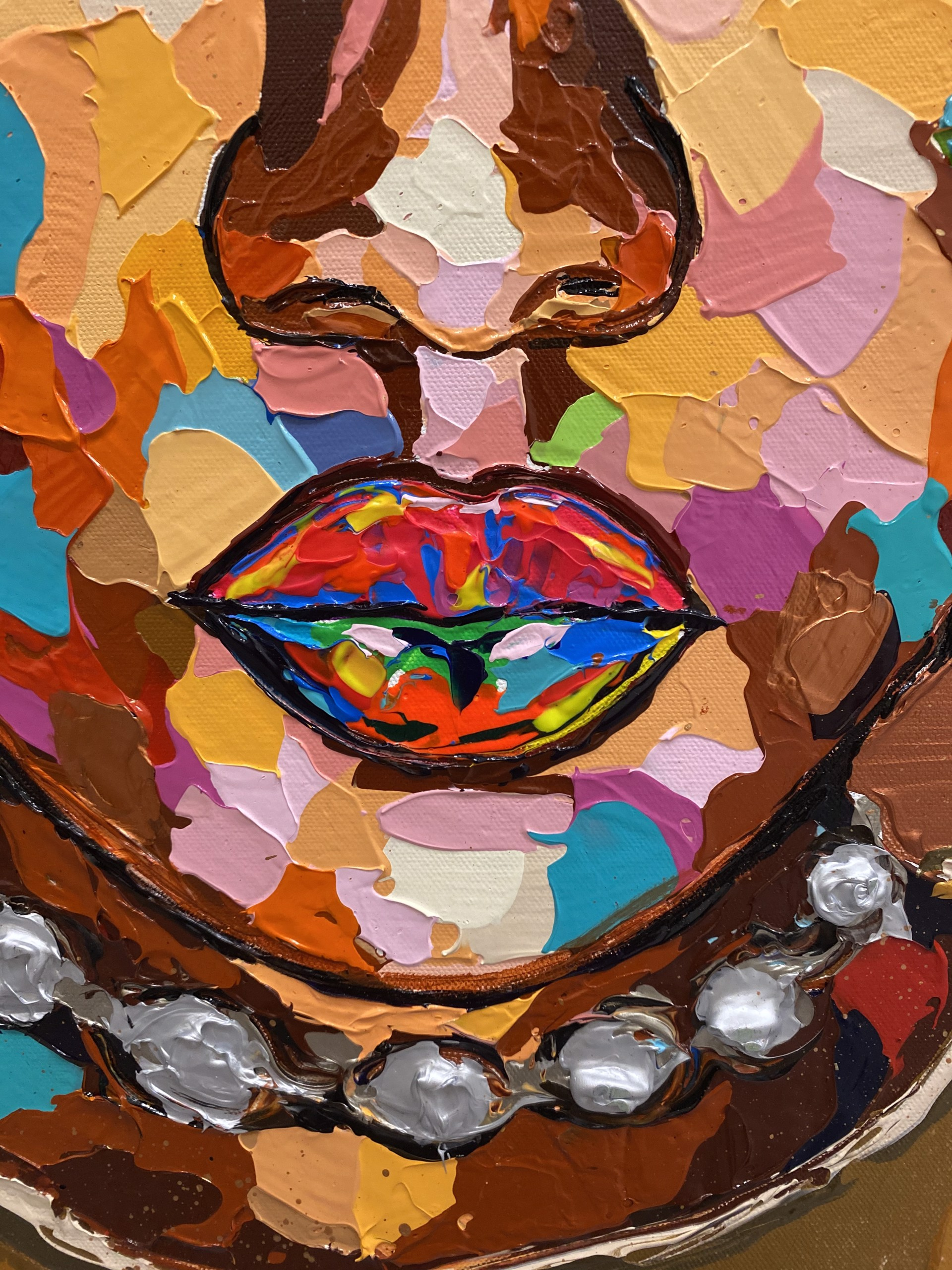 A Colorful Woman by James Threalkill