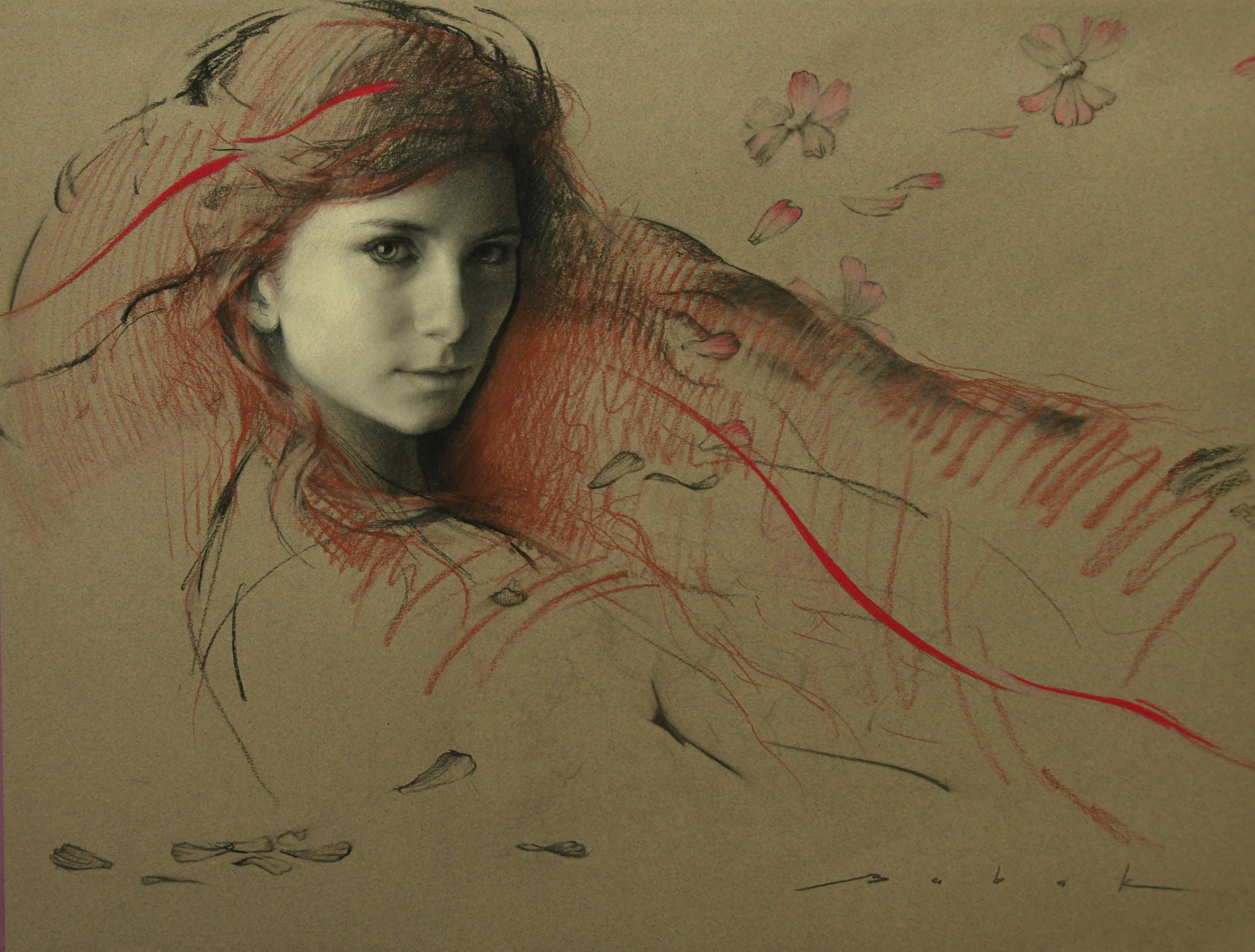Red Line by Olena Babak