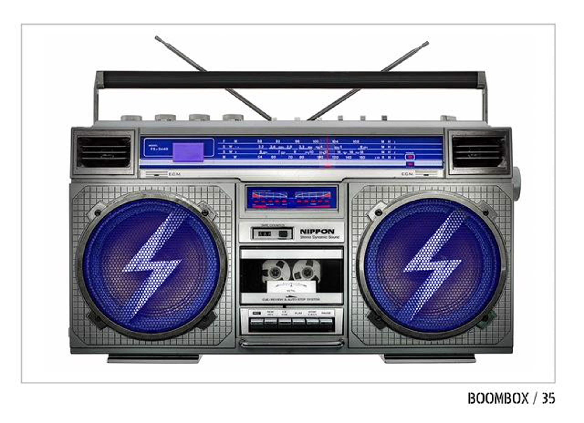 Boombox #35 by Lyle Owerko