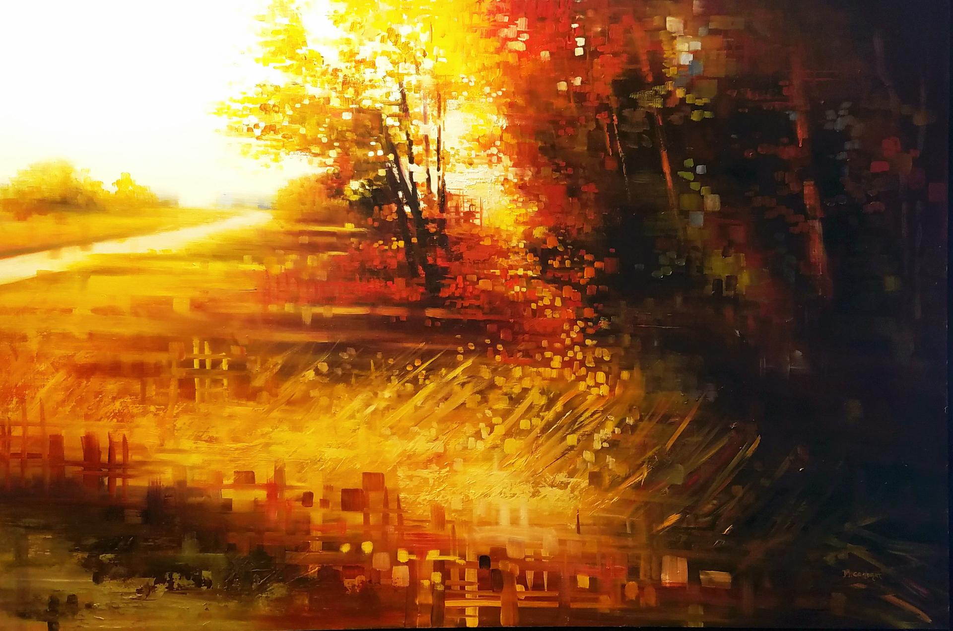 Golden Field by Michelle Condrat
