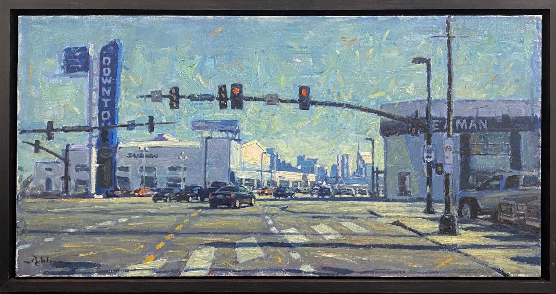 Downtown Man  by Brett Weaver