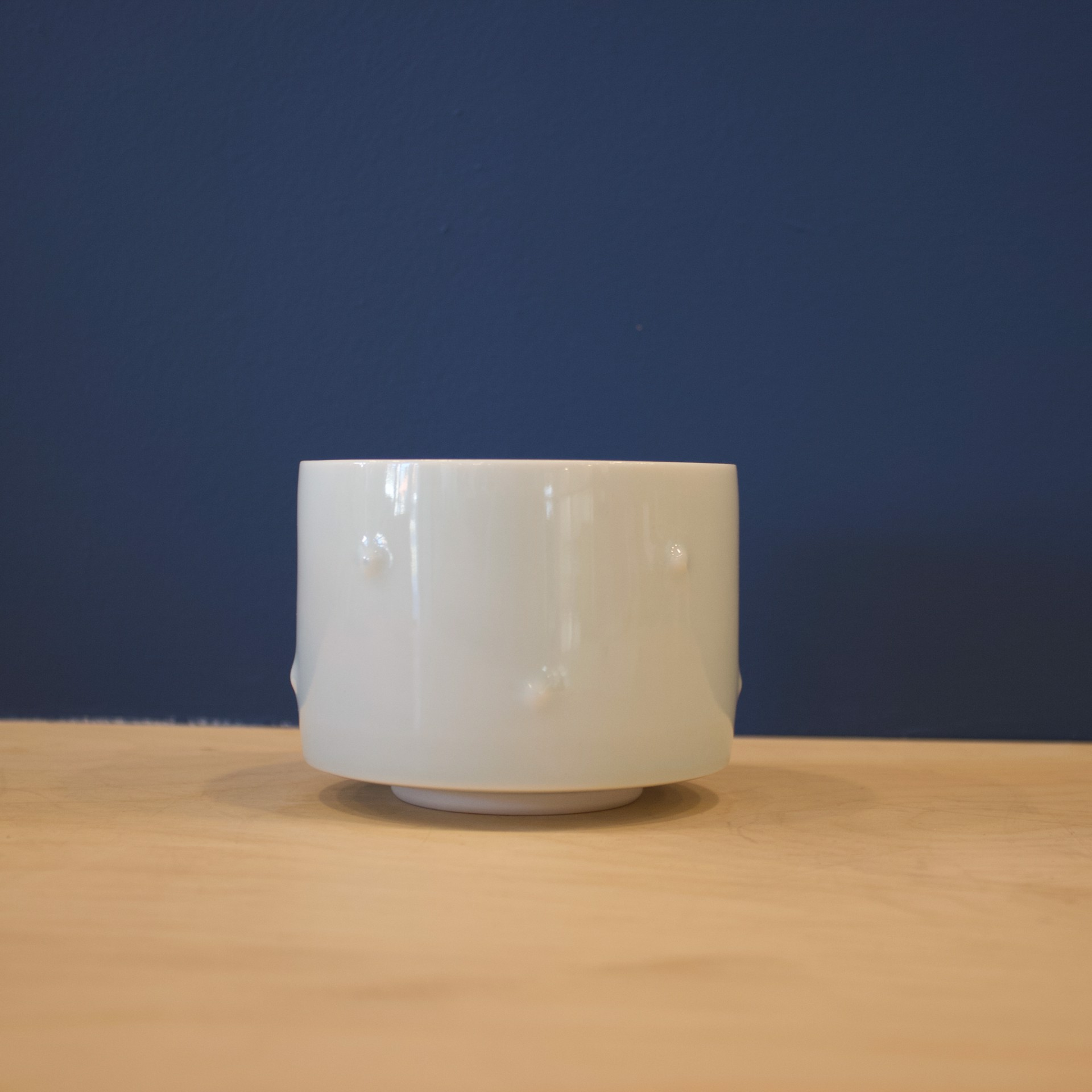 Celadon Bump Teabowl by Patricia Thom