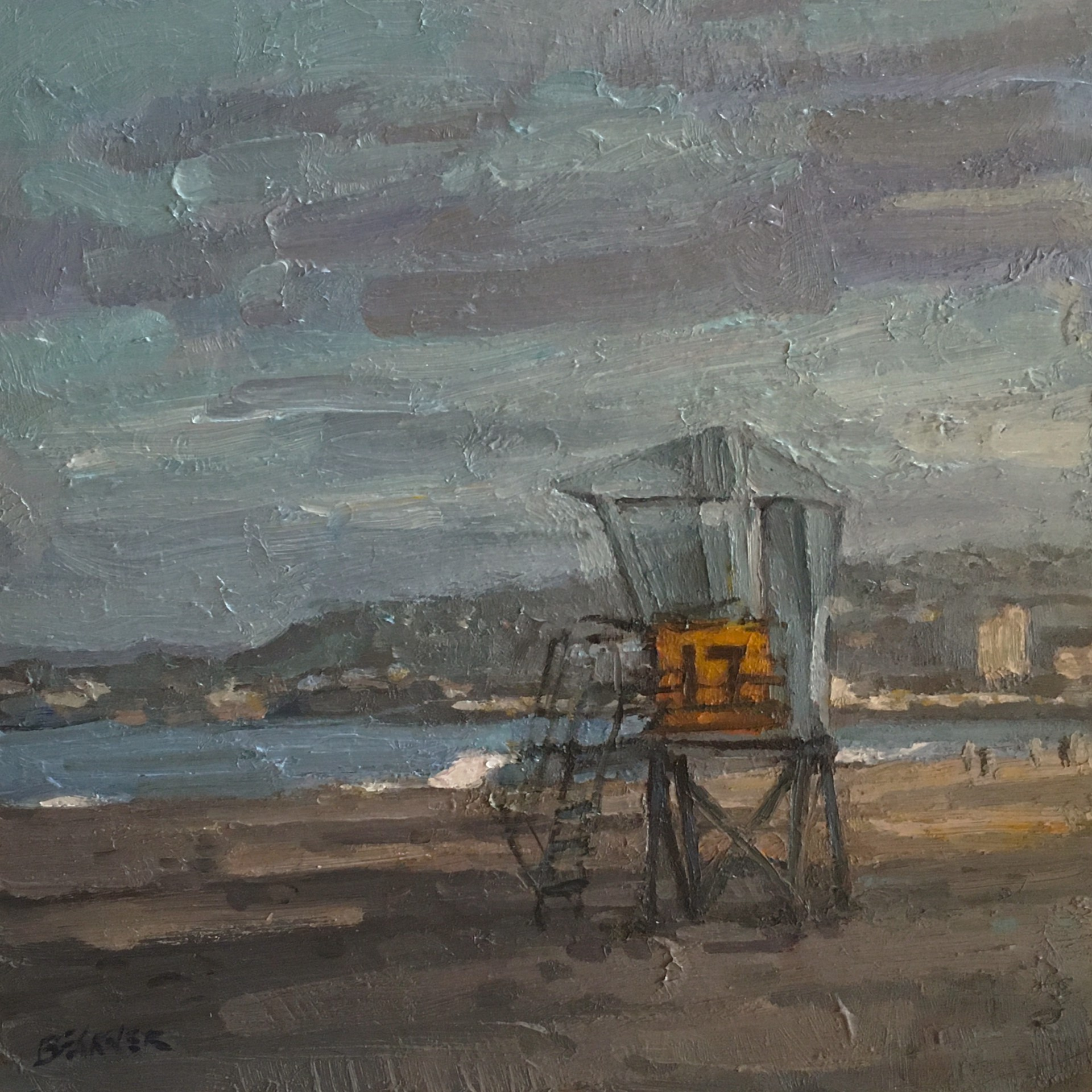 Beach 17 by Jim Beckner