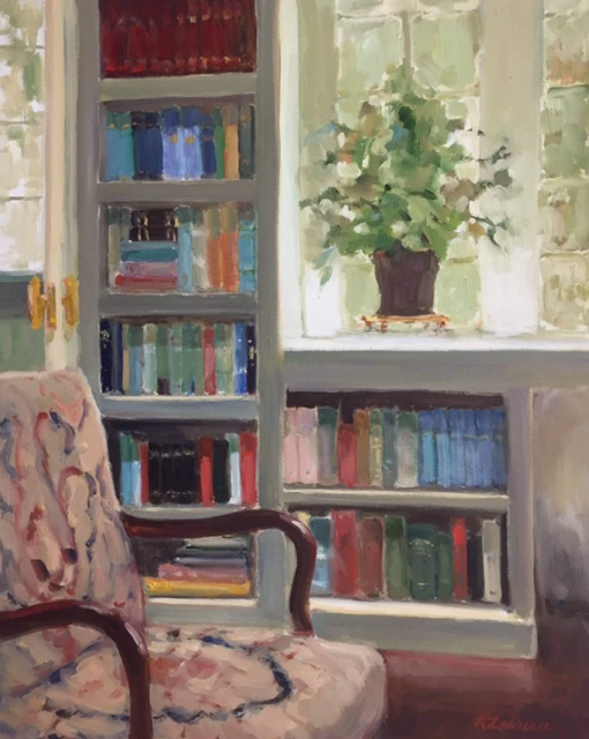 The Library by Karen Lawrence