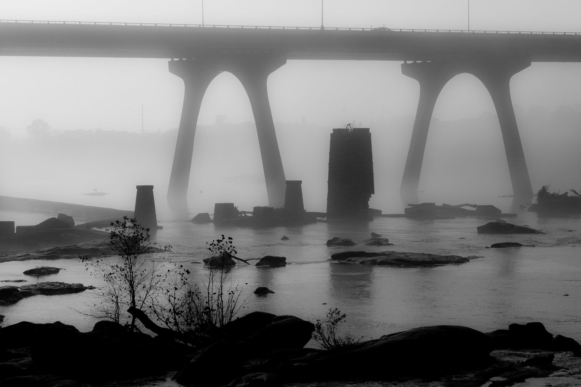 James River Fog III 2013 by Alex Nyerges